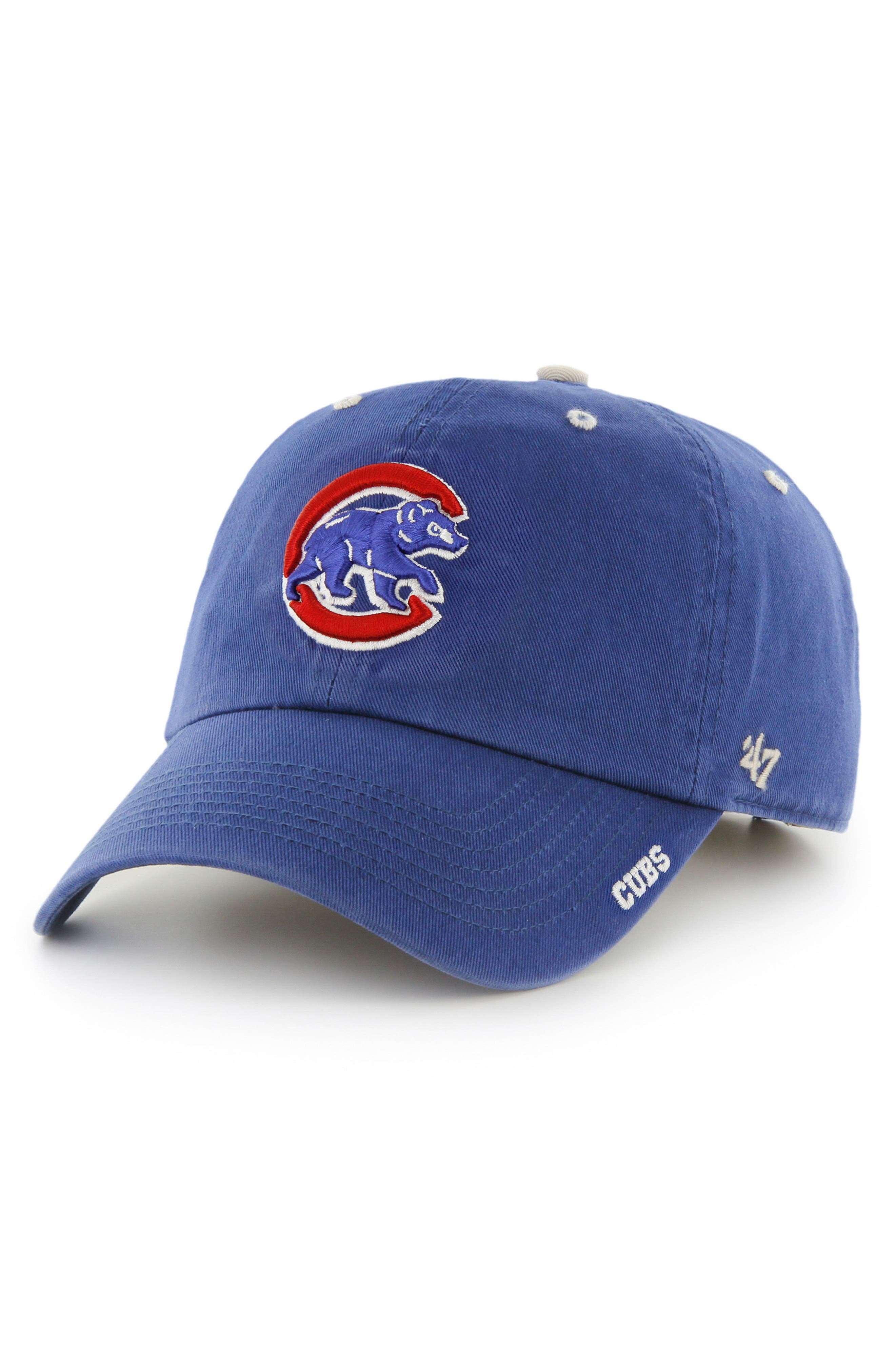 Beta MVP Chicago Cubs Baseball Cap,                             Main thumbnail 1, color,                             Royal