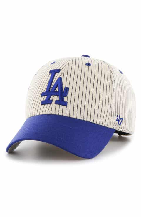 baby blue la baseball cap light brand dodgers two tone navy