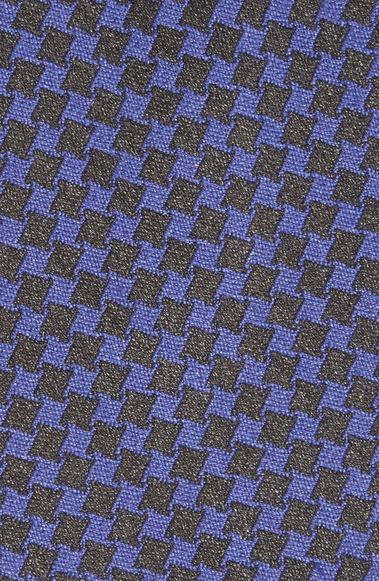 Alternate Image 2  - Nordstrom Men's Shop Check Silk Tie