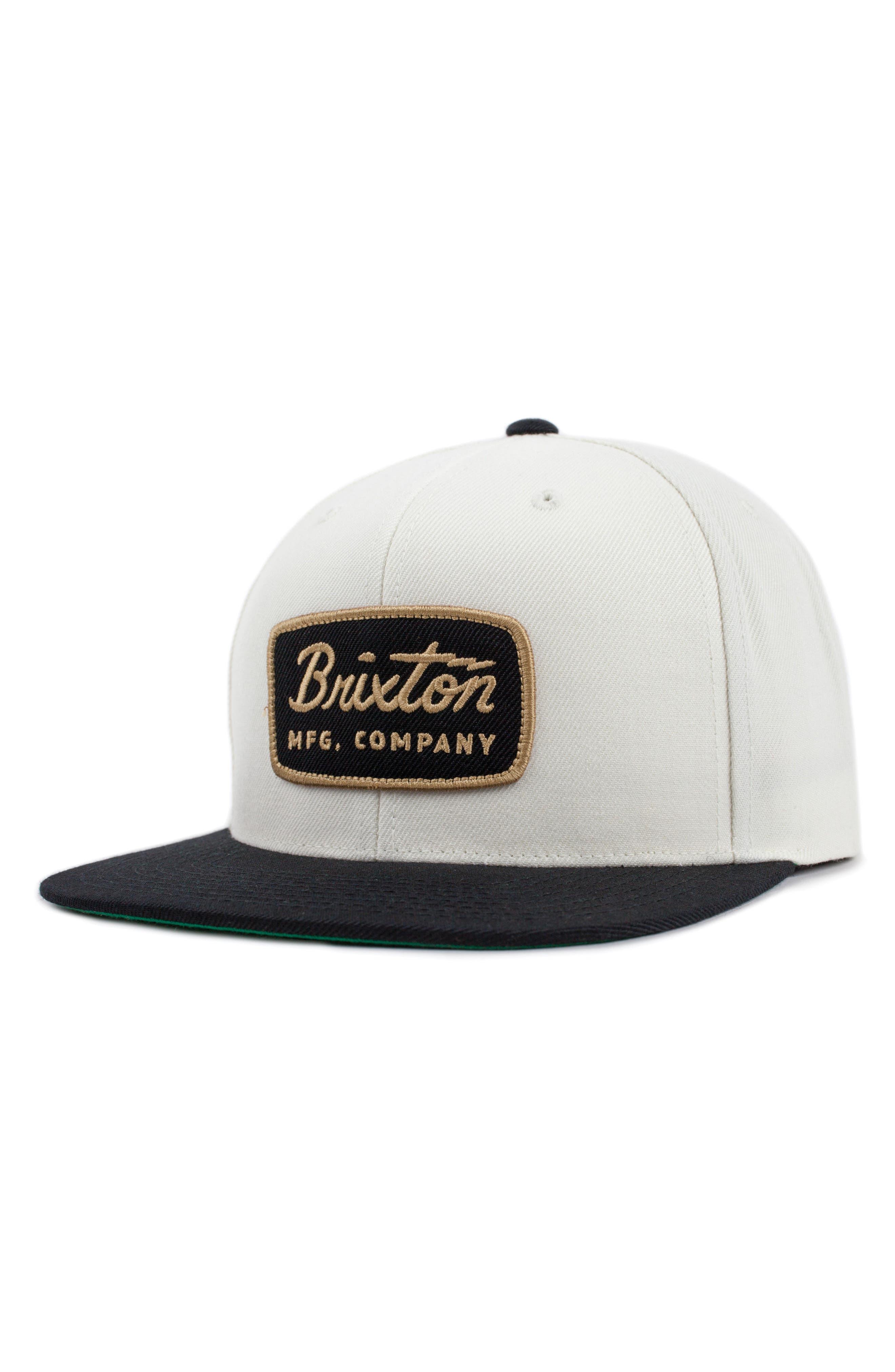 'Jolt' Snapback Cap,                         Main,                         color, Black/ White