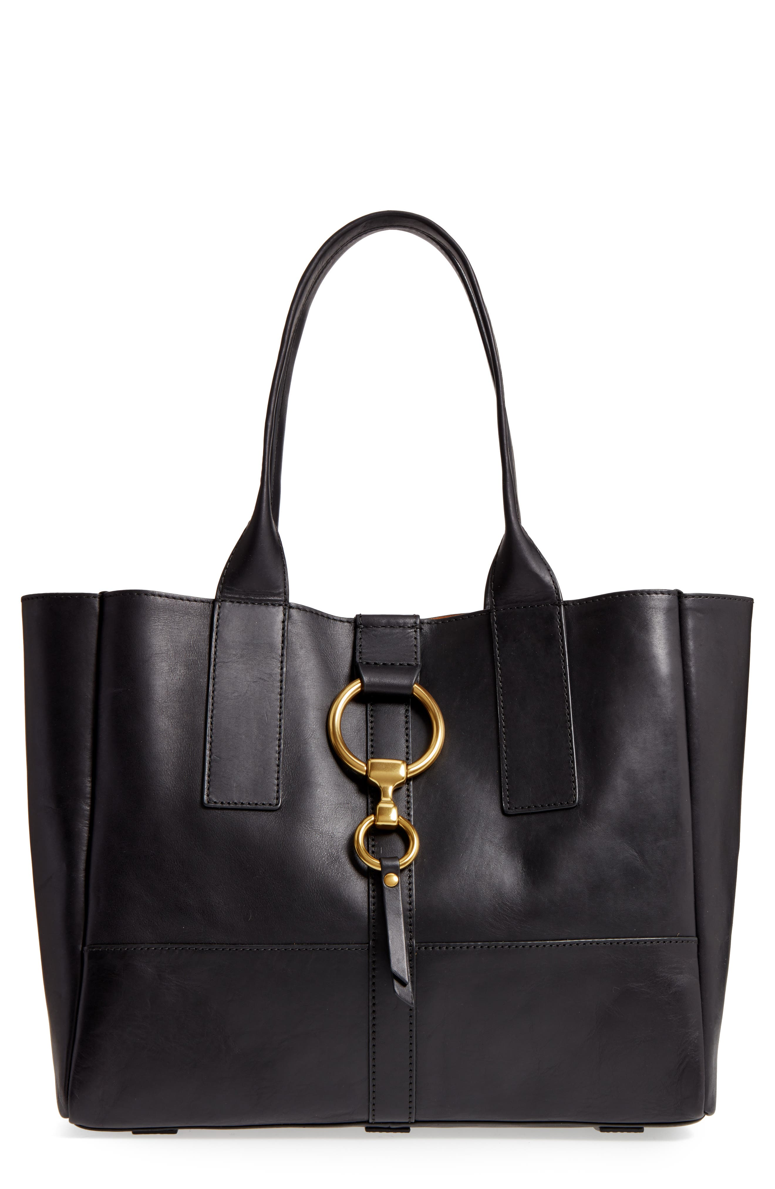 Alternate Image 1 Selected - Frye Ilana Harness Leather Shopper