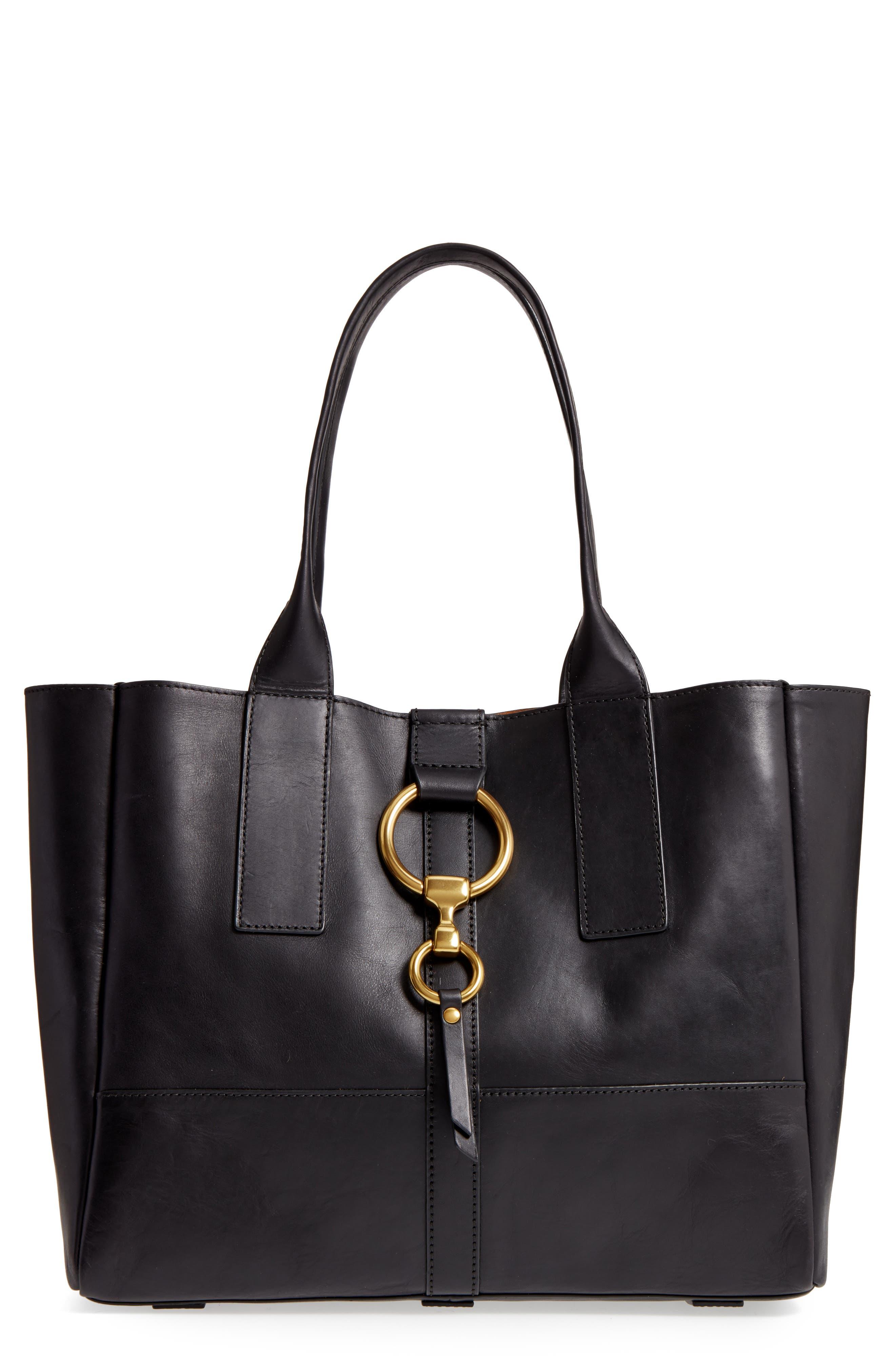 Main Image - Frye Ilana Harness Leather Shopper