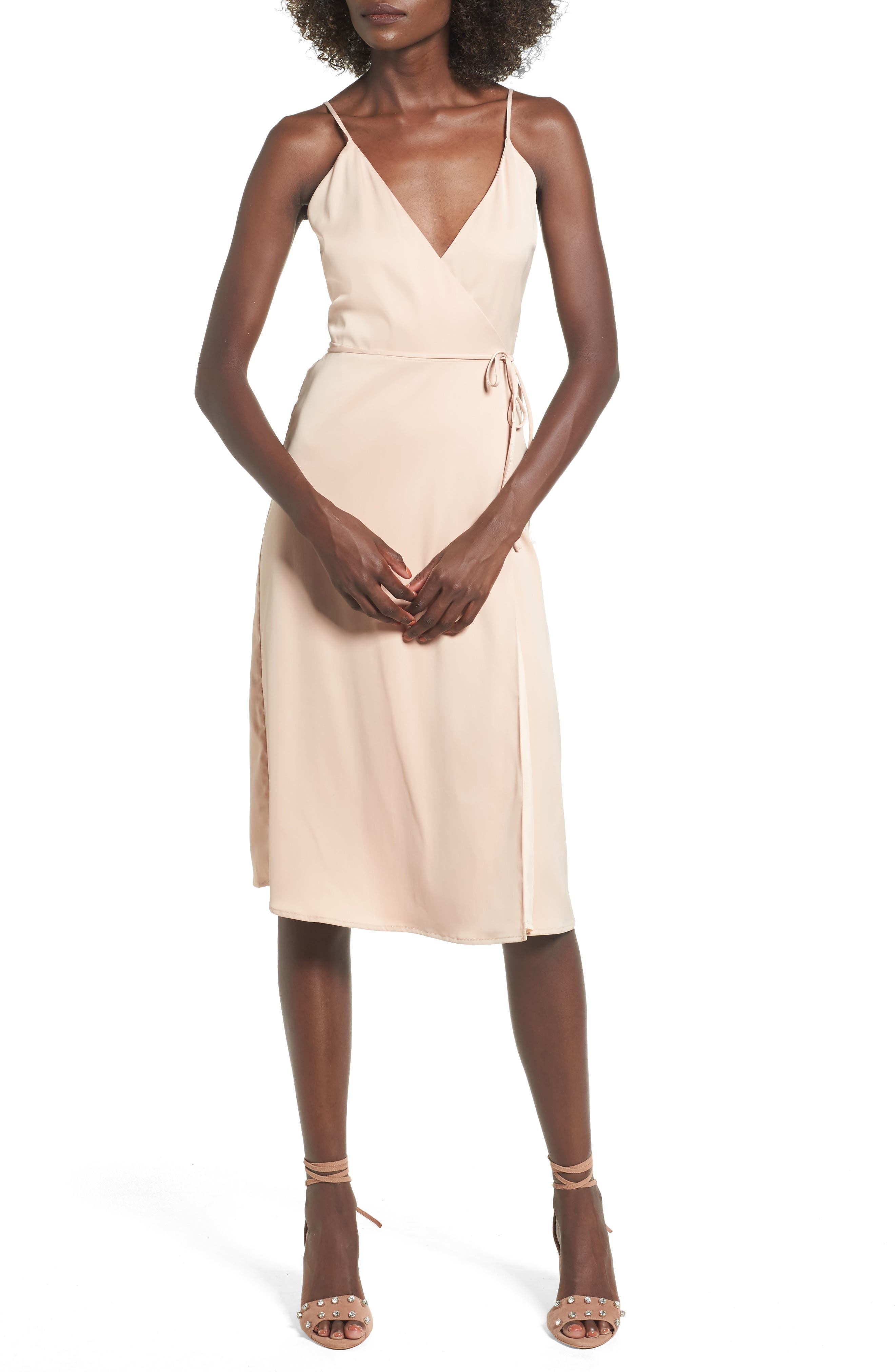 Alternate Image 1 Selected - L'Academie The Wrap Slipdress