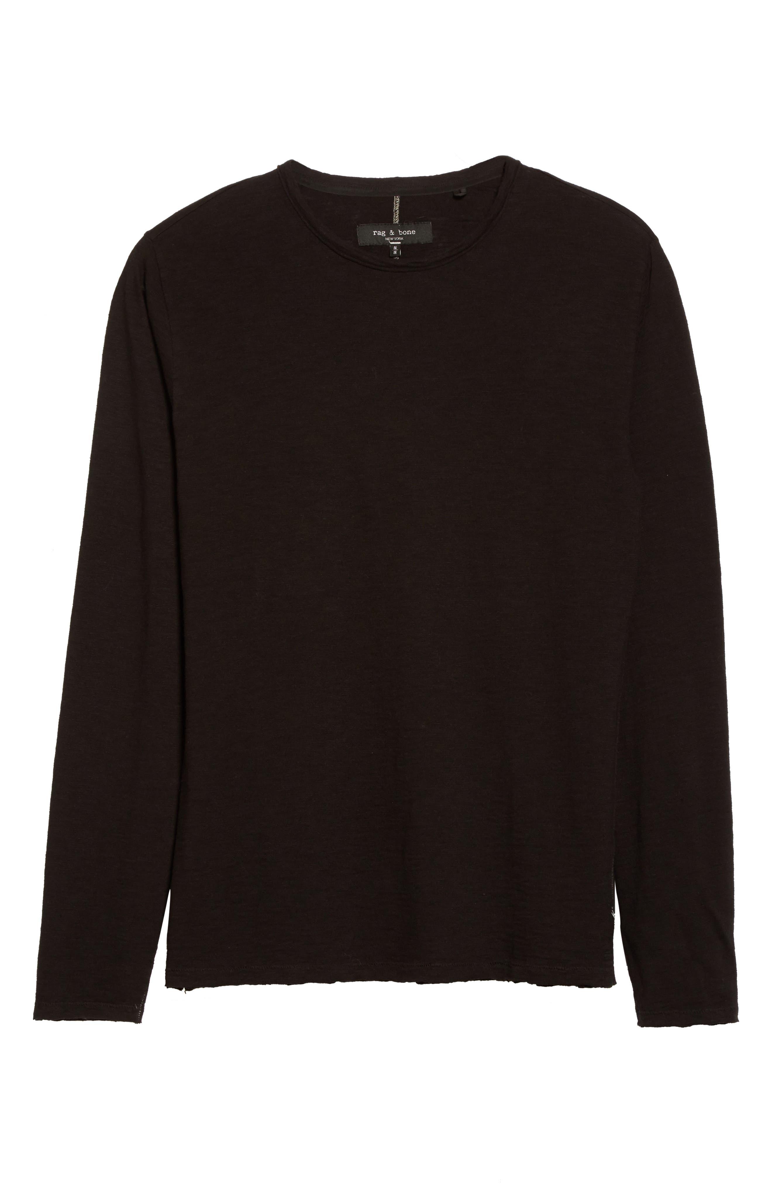 Owen T-Shirt,                             Alternate thumbnail 7, color,                             Black