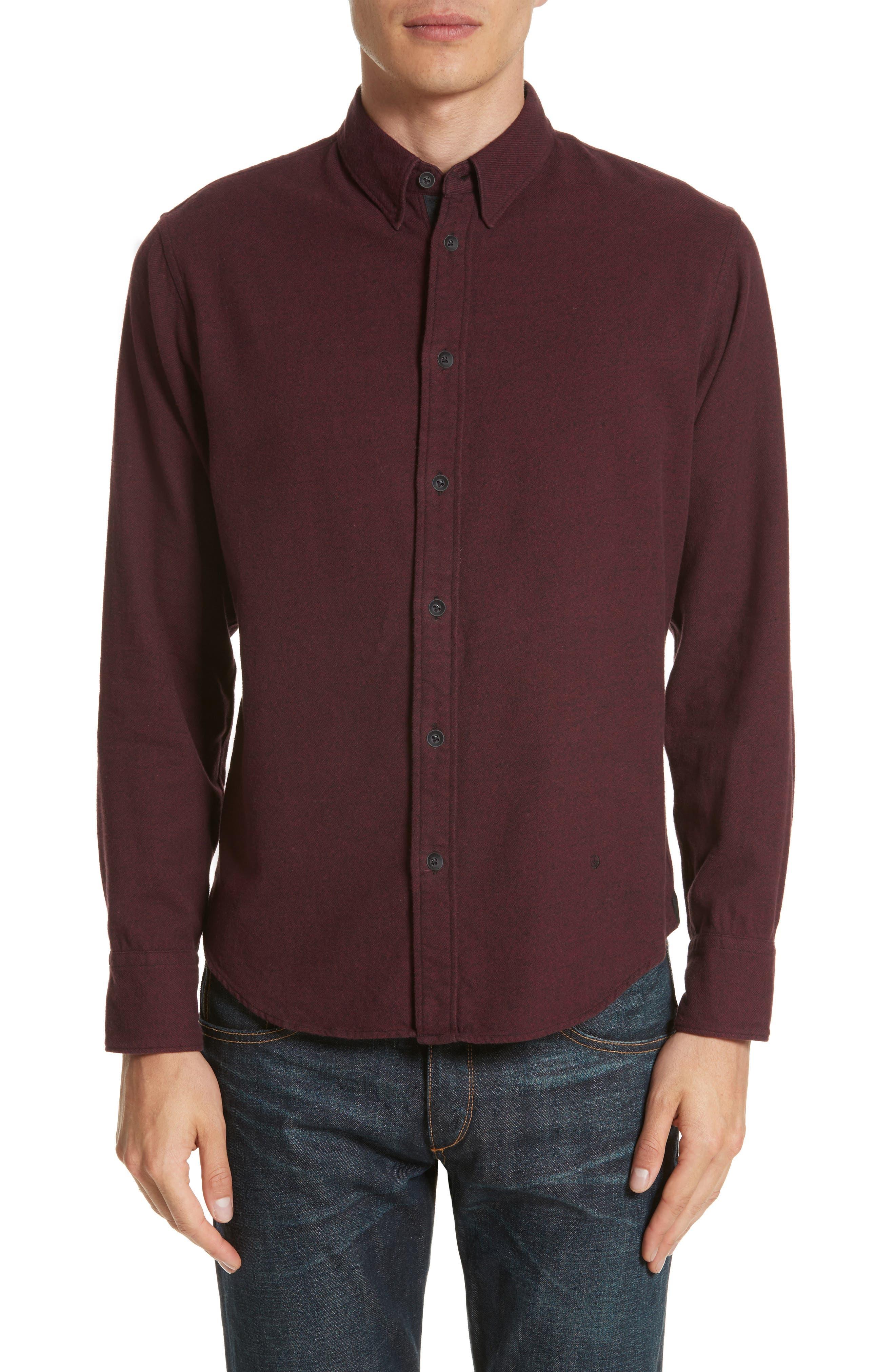 rag & bone Fit 2 Base Woven Shirt