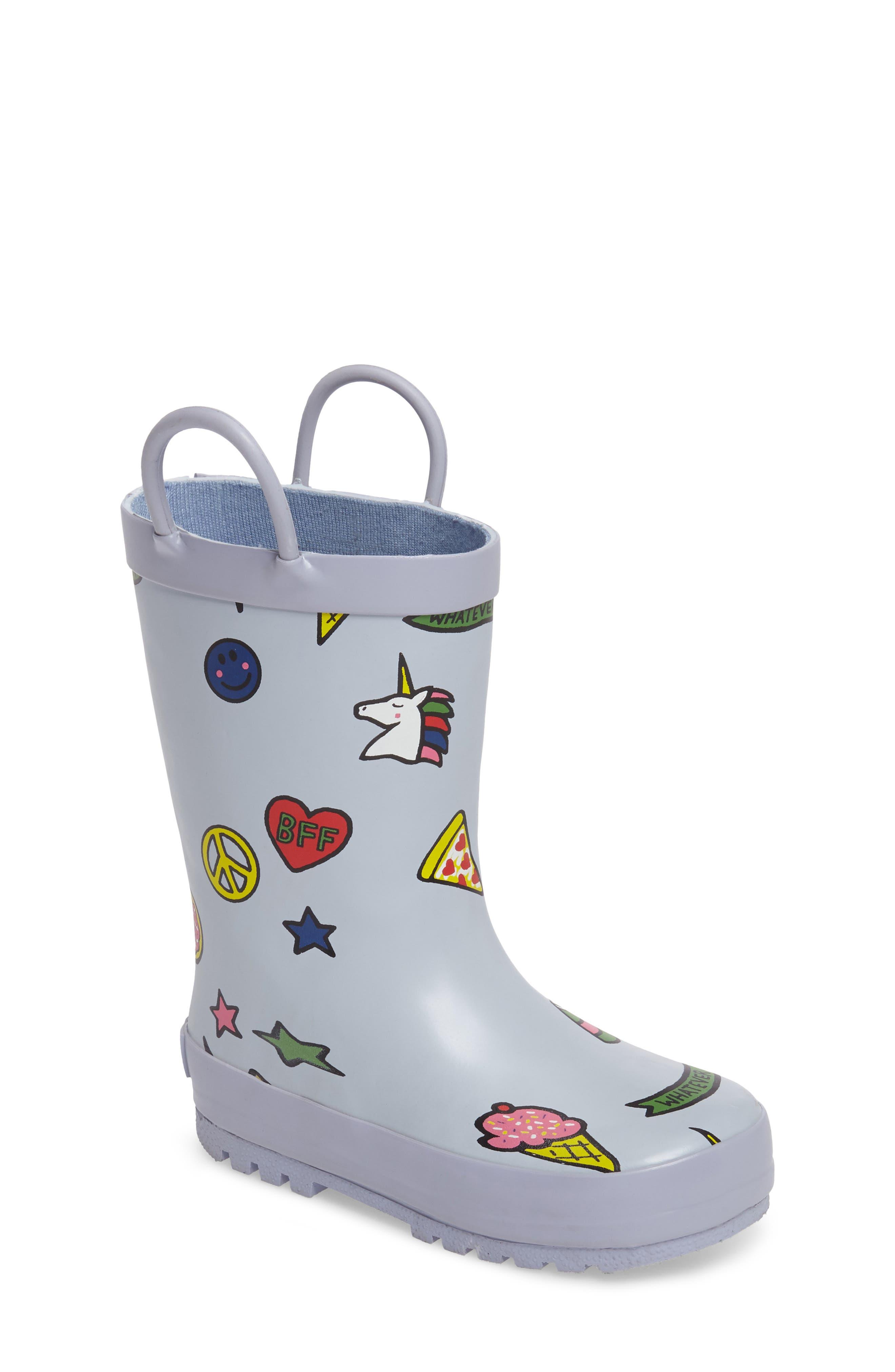 Tucker + Tate 'Puddle' Rain Boot (Walker & Toddler)