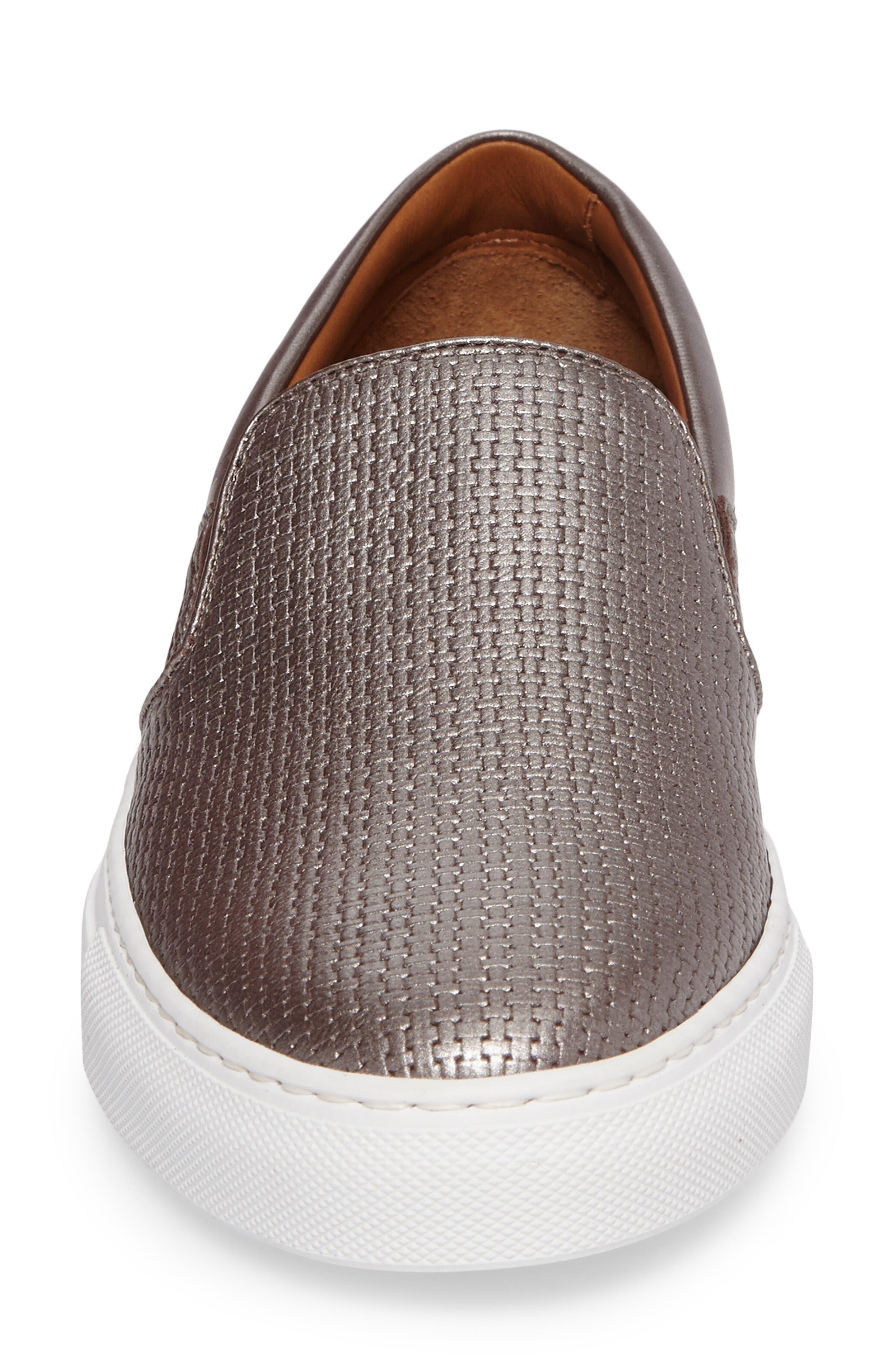 Alternate Image 4  - Aquatalia Ashlynn Embossed Slip-On Sneaker (Women)