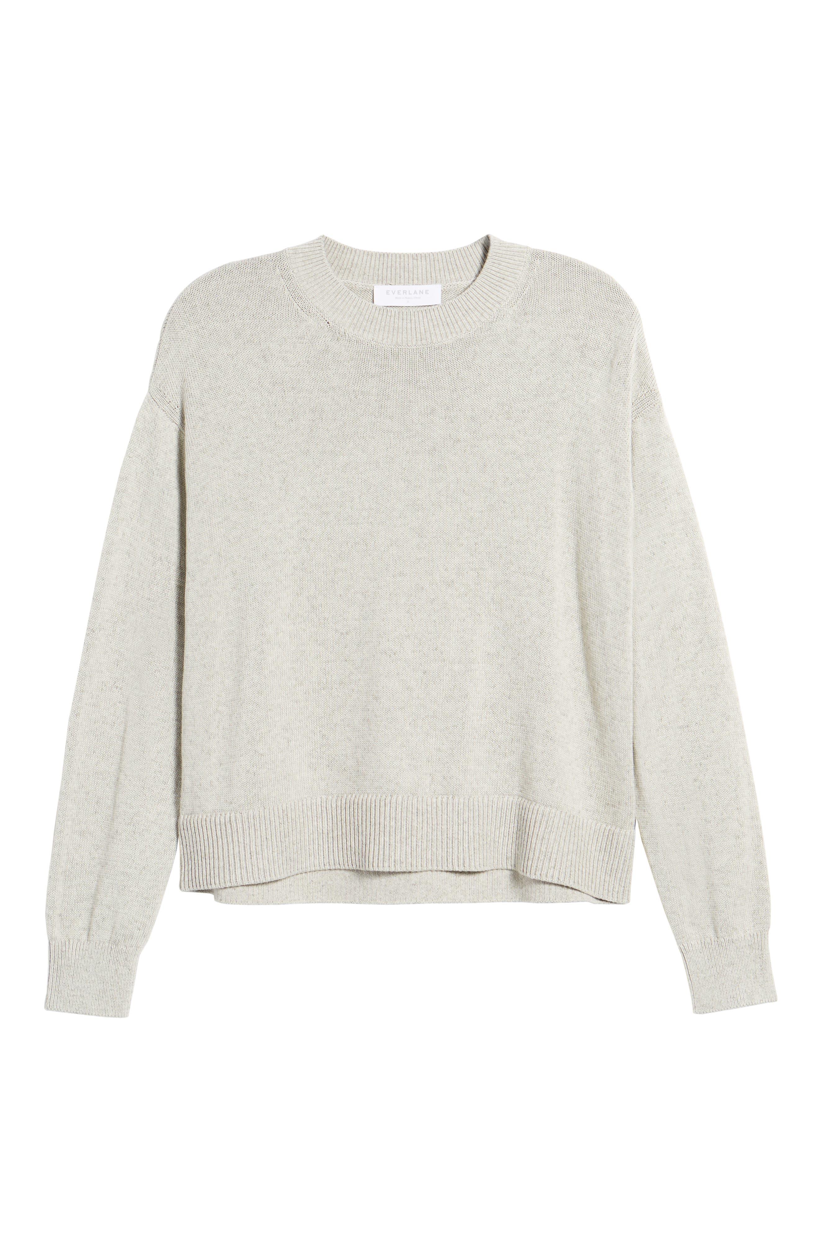 Alternate Image 5  - Everlane The Cotton Long Sleeve Crew Sweater