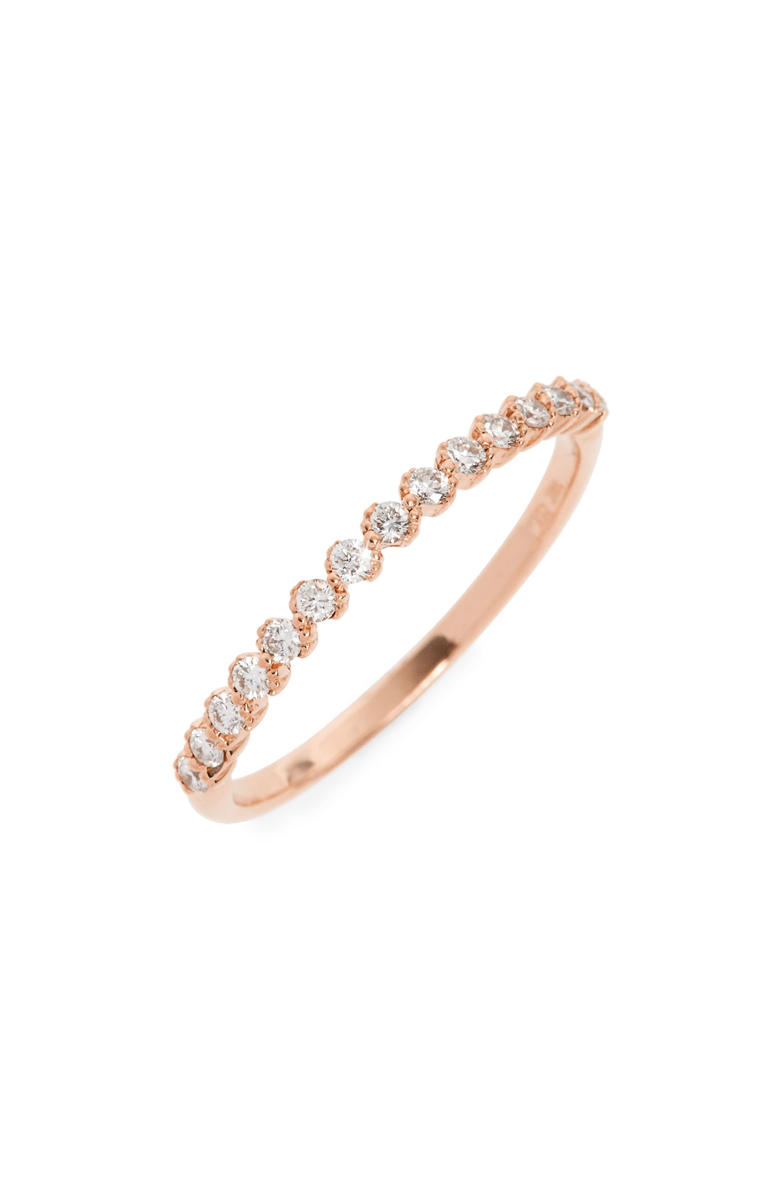 Bony Levy Stackable Diamond Ring (Nordstrom Exclusive)