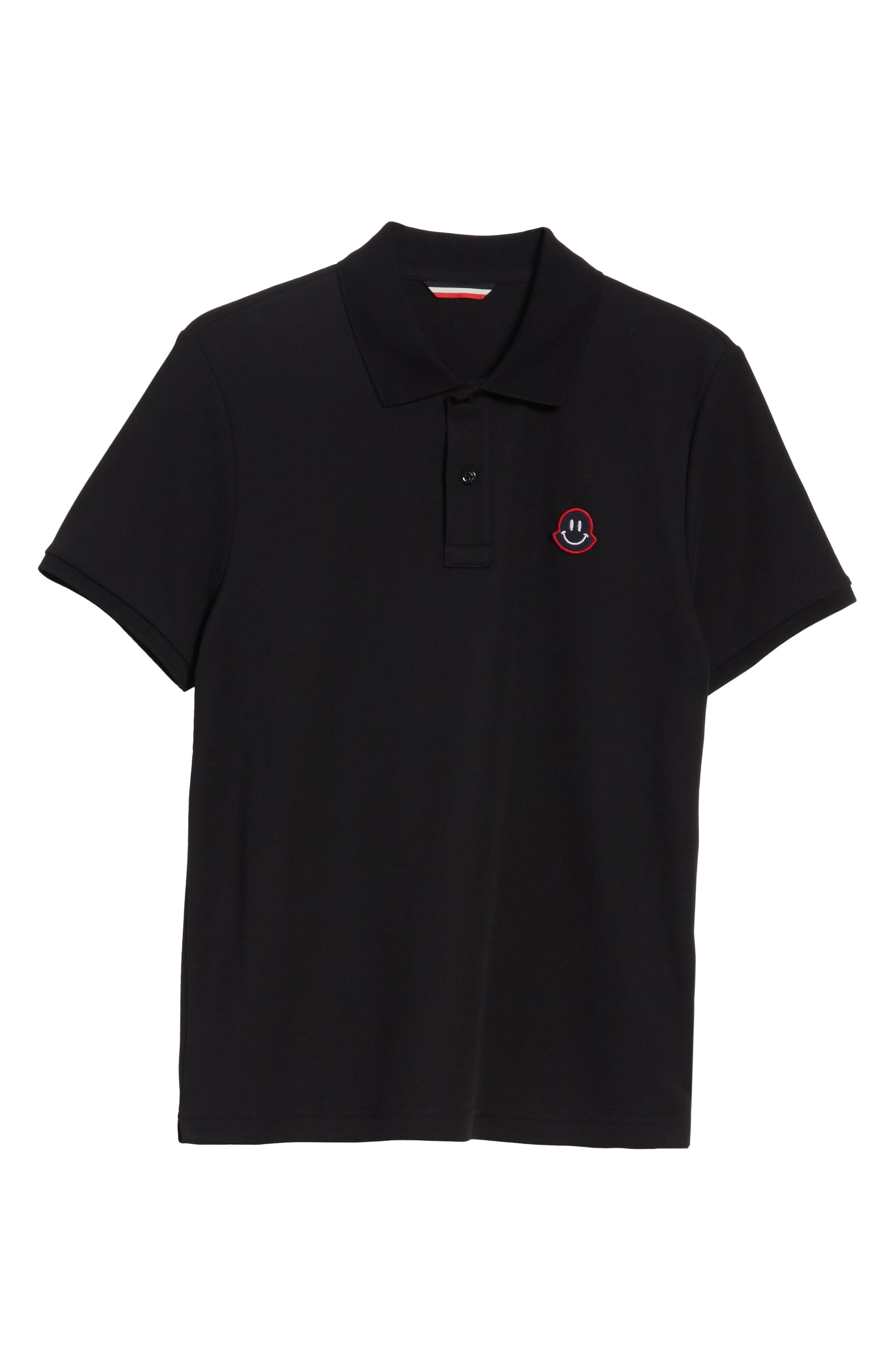 Alternate Image 6  - Moncler Smile Logo Piqué Polo