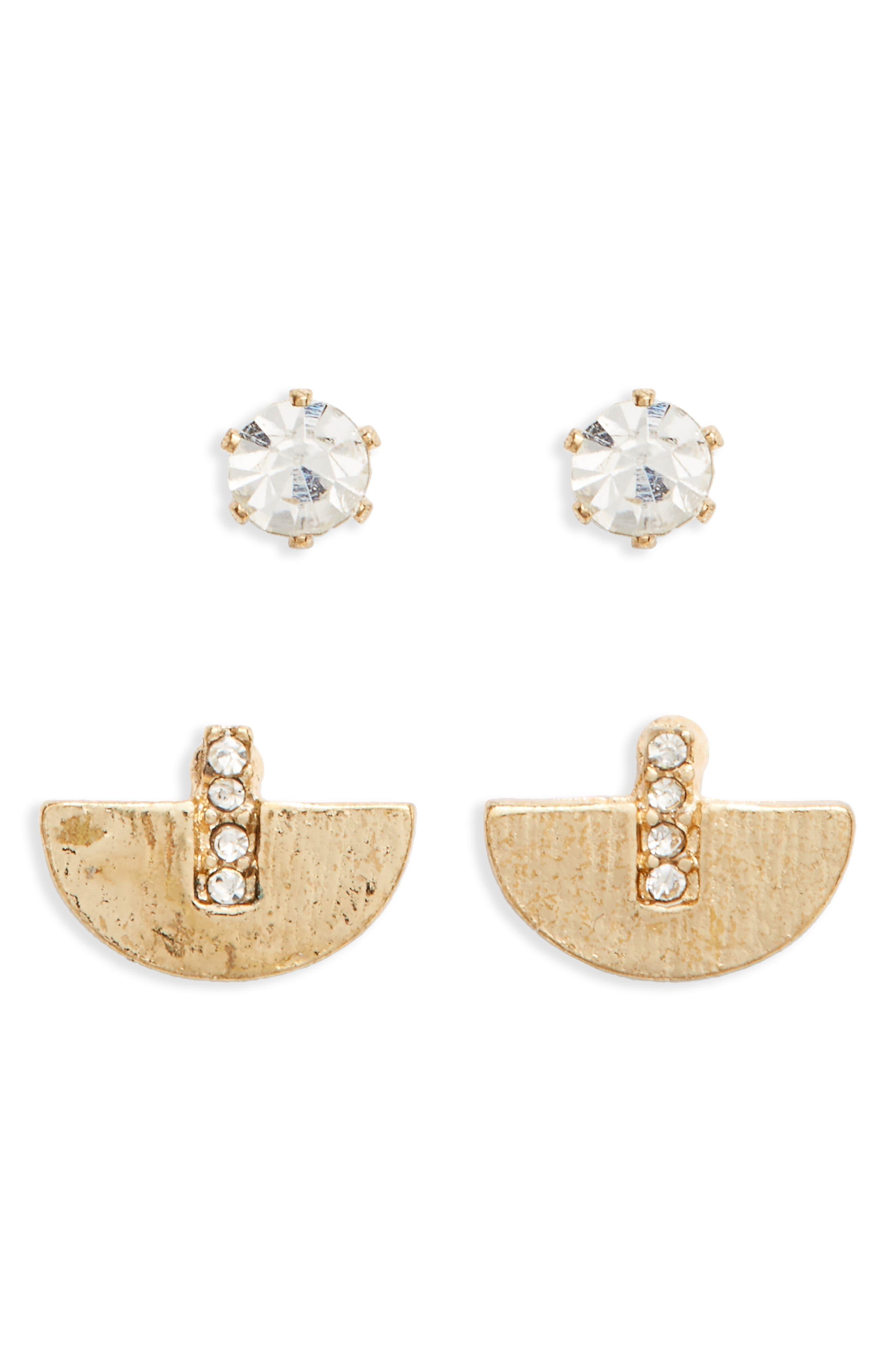 BP. 2-Pack Stud Earrings