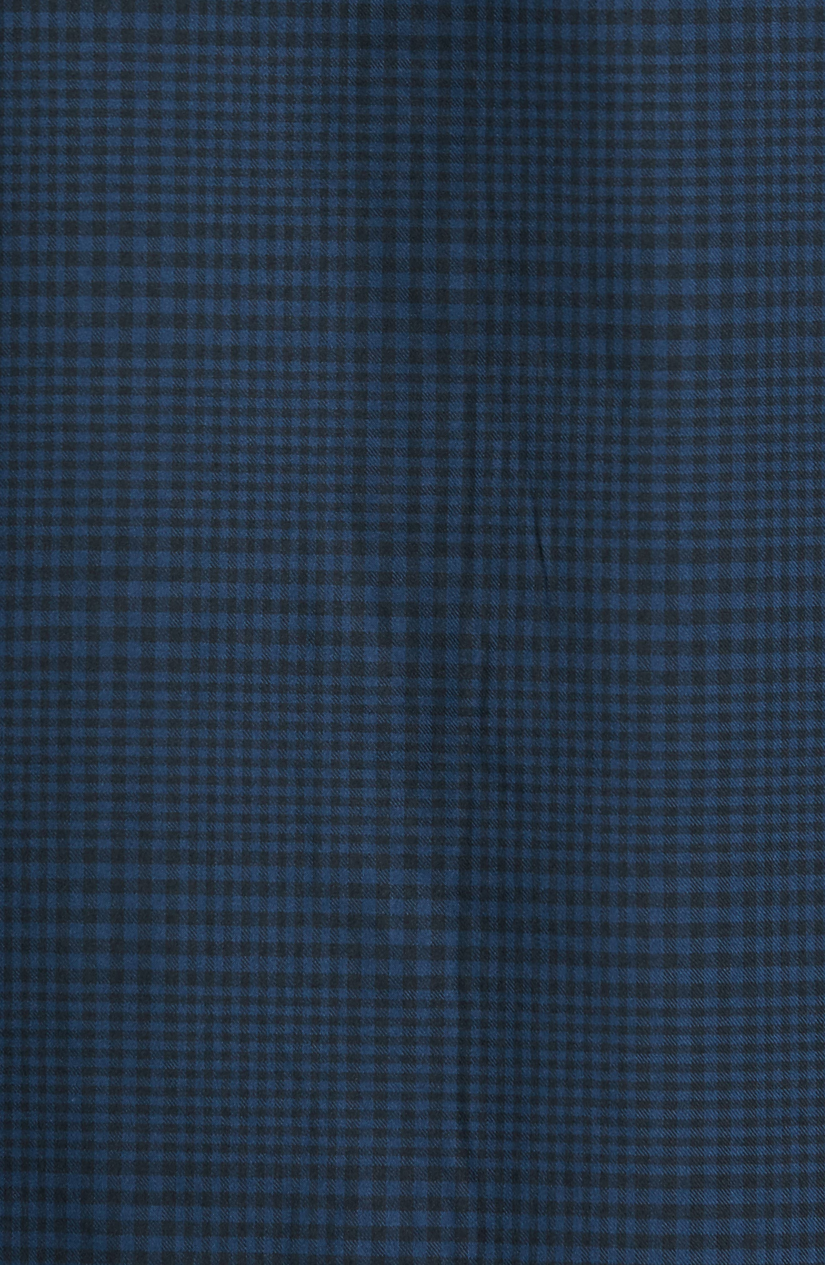Alternate Image 5  - Bugatchi Classic Fit Glen Plaid Sport Shirt