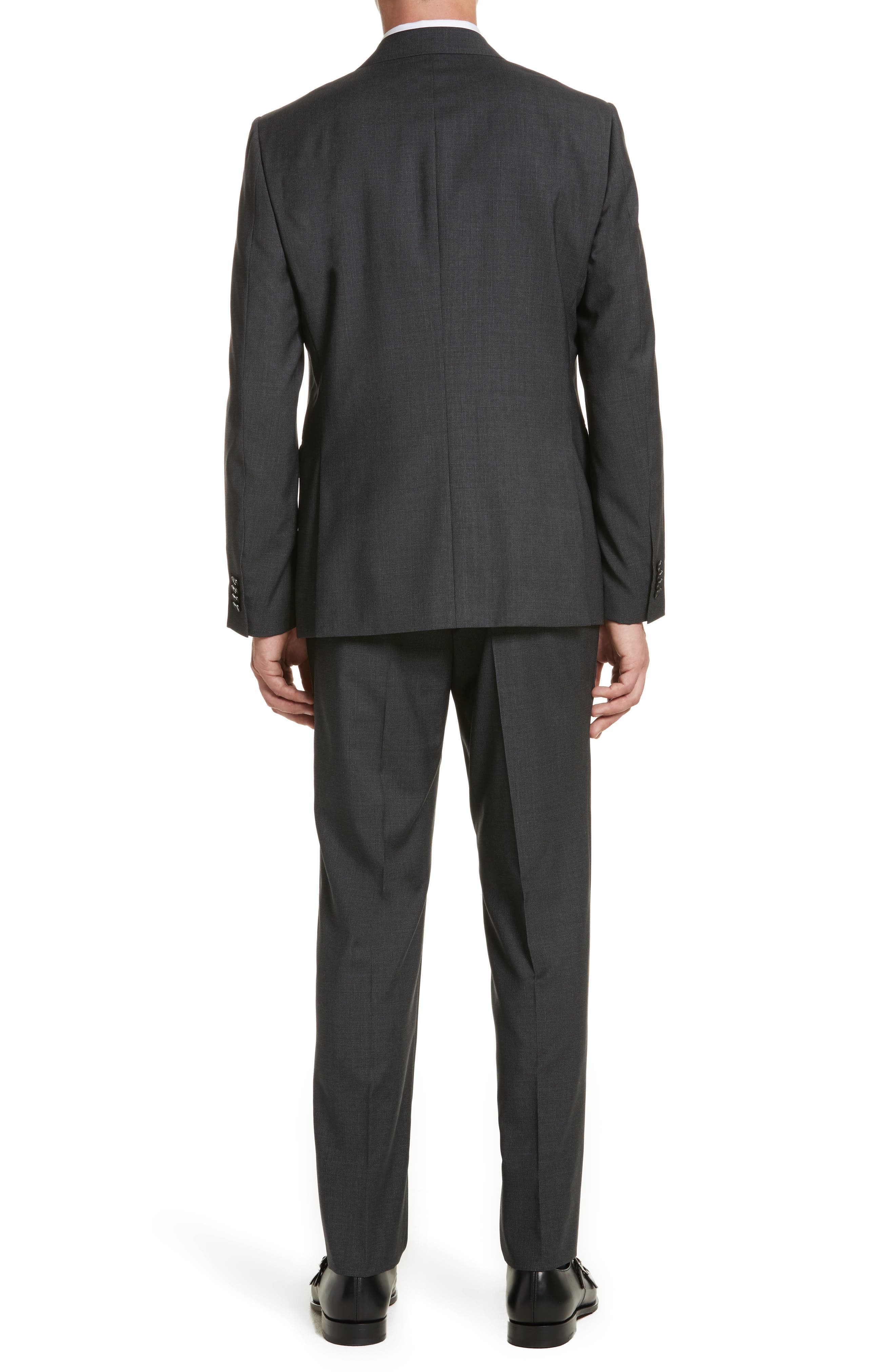 Alternate Image 2  - Z Zegna Classic Fit Solid Wool Suit