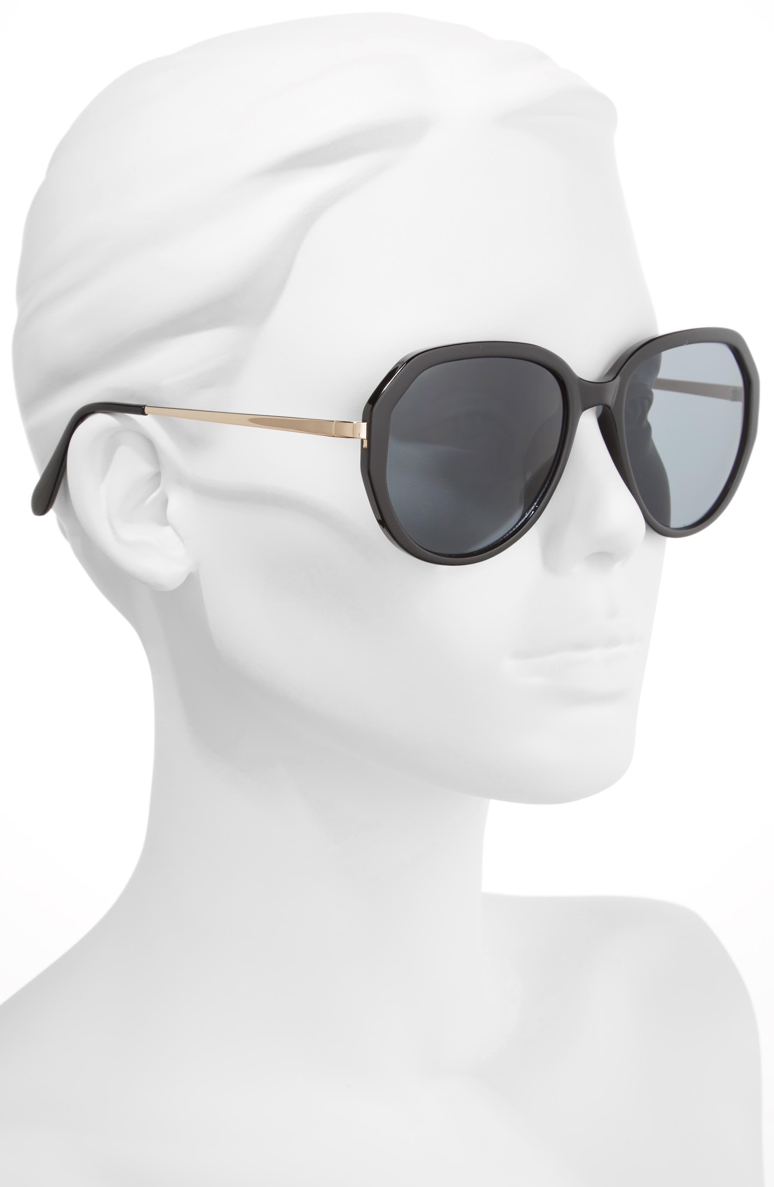 Alternate Image 2  - BP. 60mm Geo Round Sunglasses
