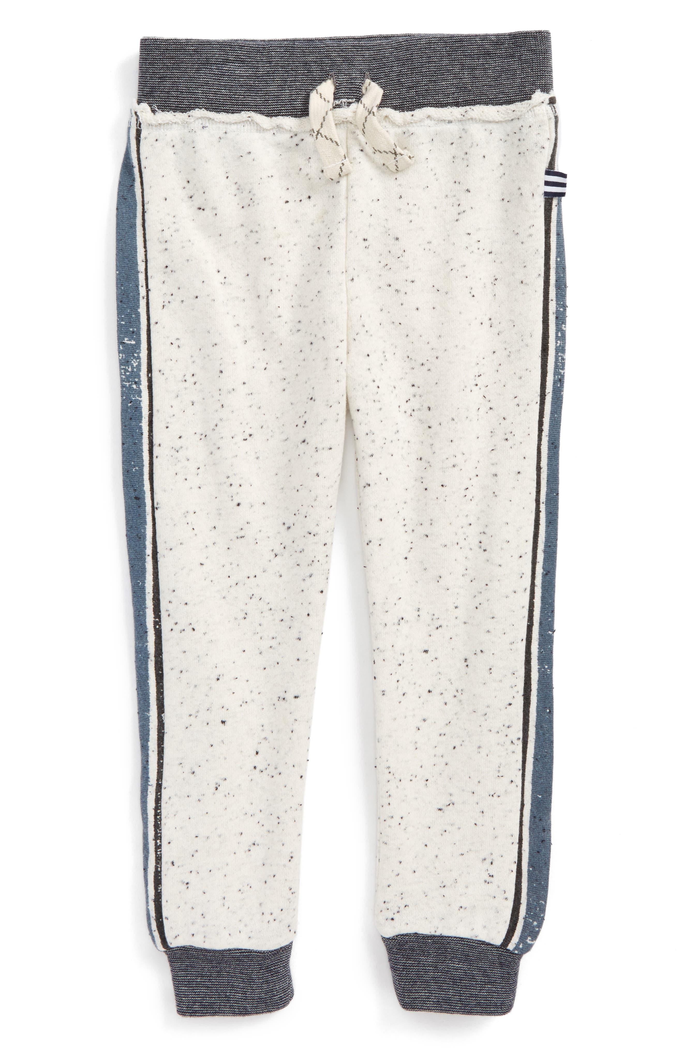 French Terry Jogger Pants,                             Main thumbnail 1, color,                             Off White