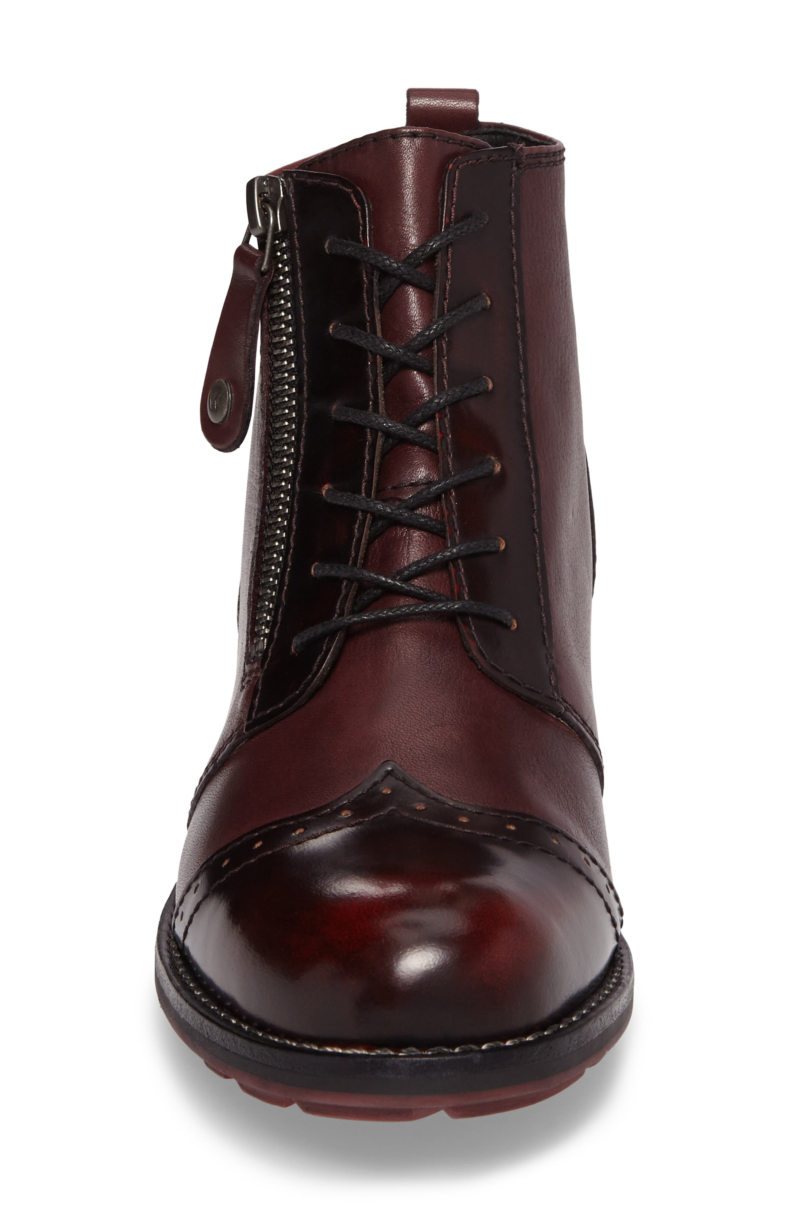 Millstream Boot,                             Alternate thumbnail 4, color,                             Bordo Leather