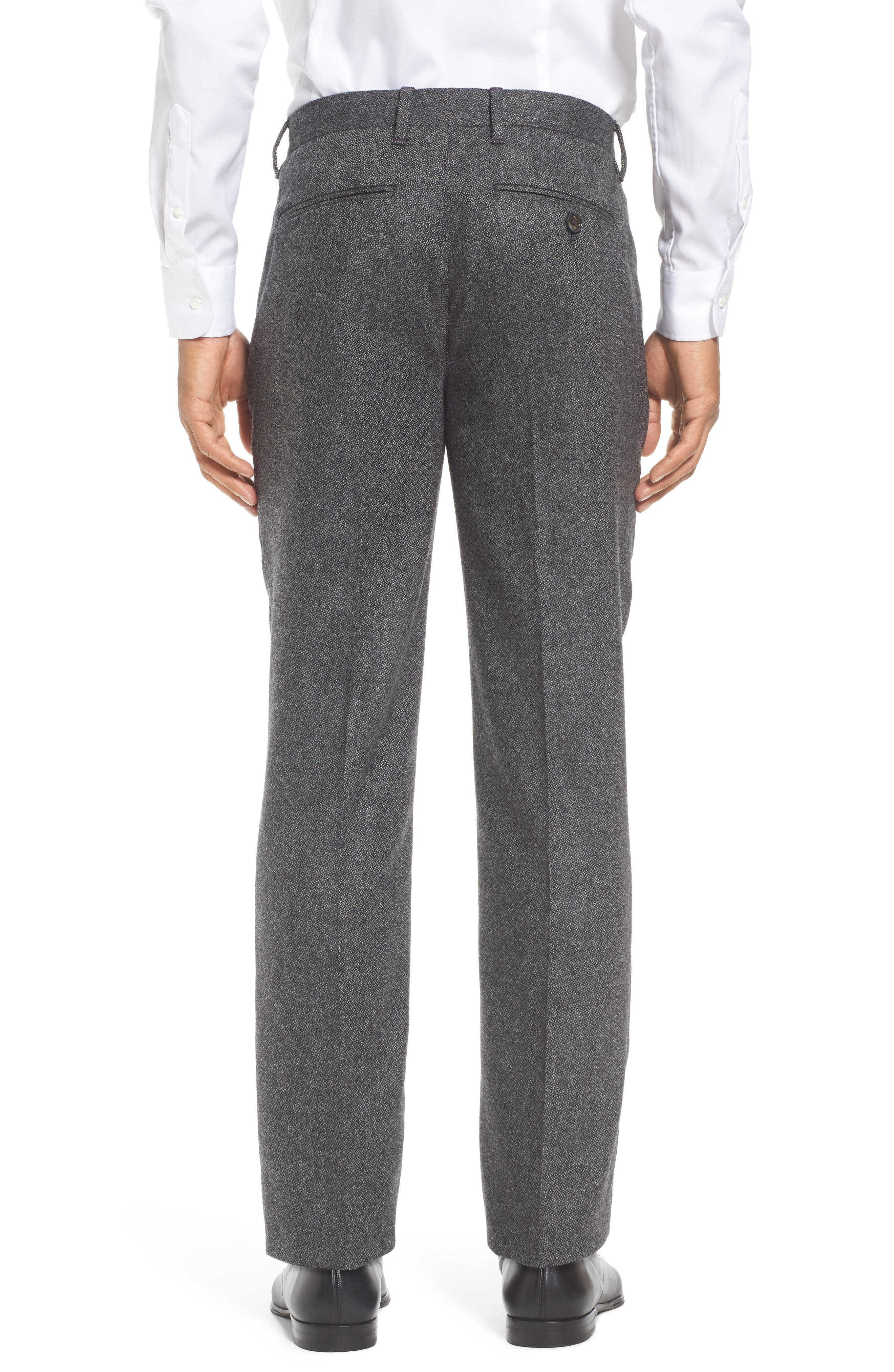 Modern Slim Fit Trousers,                             Alternate thumbnail 2, color,                             Charcoal