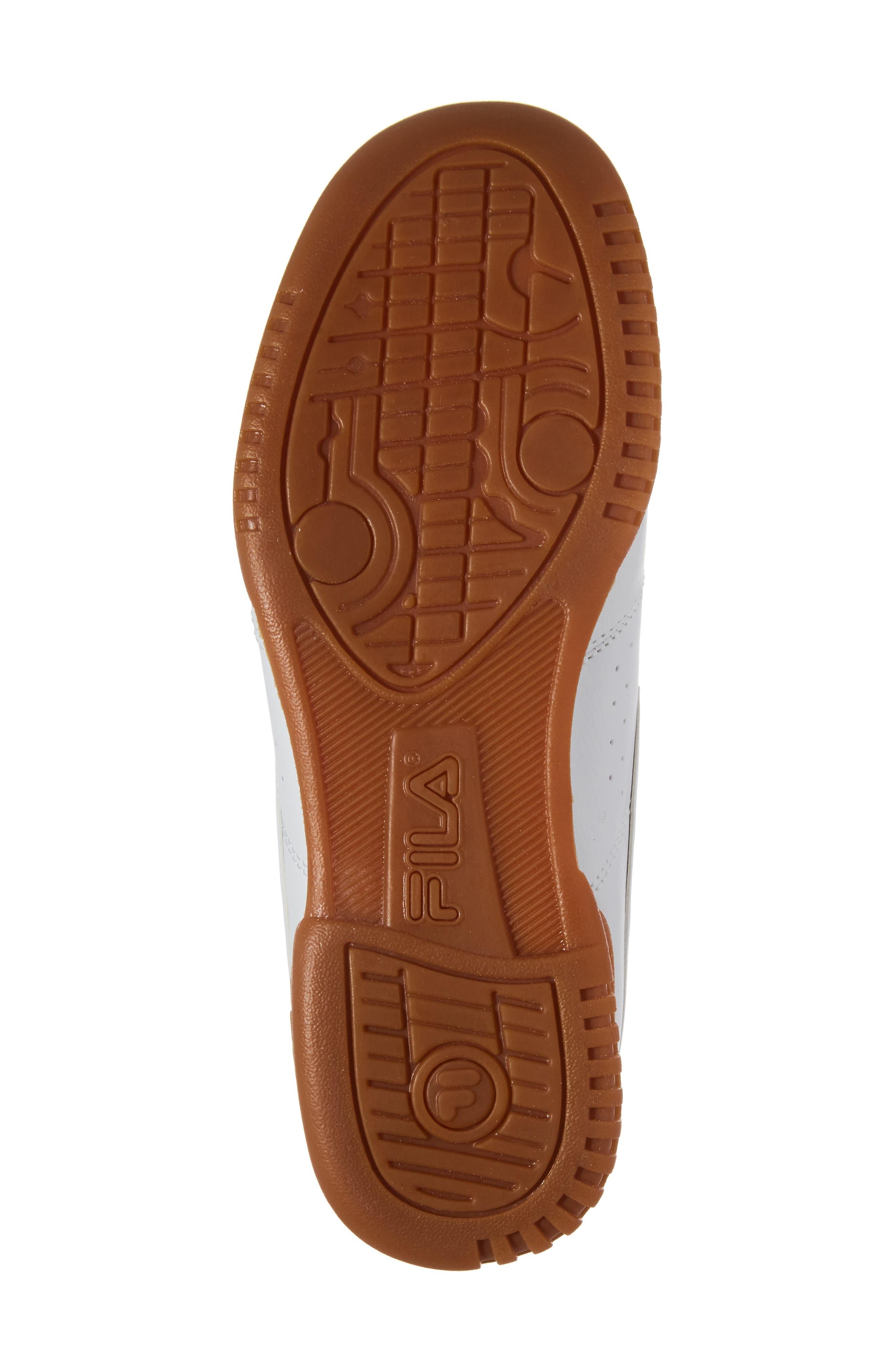 Alternate Image 6  - FILA Original Fitness Logo Mid Top Sneaker (Big Kid)