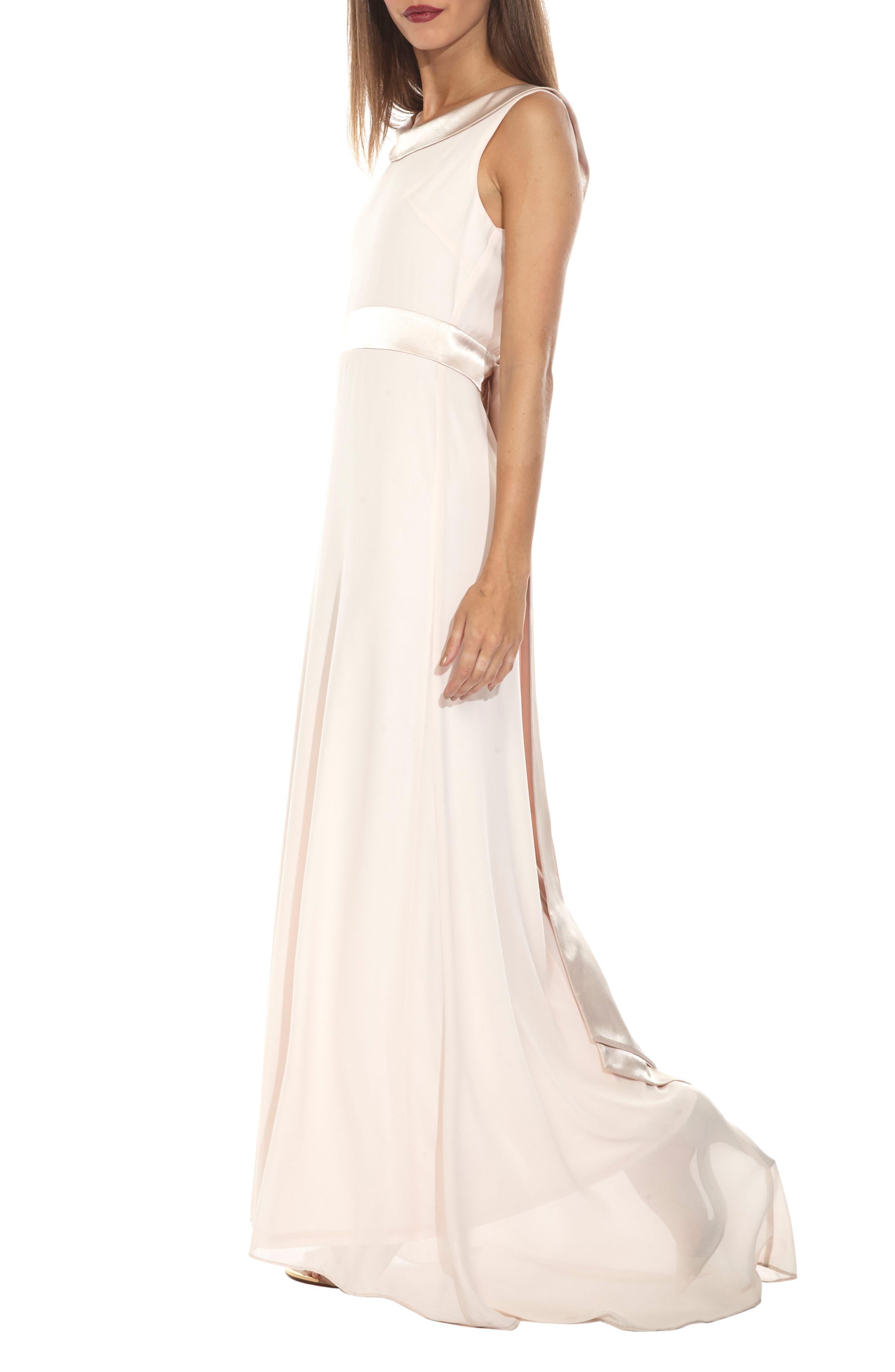Alternate Image 3  - TFNC Daralls V-Back Maxi Dress