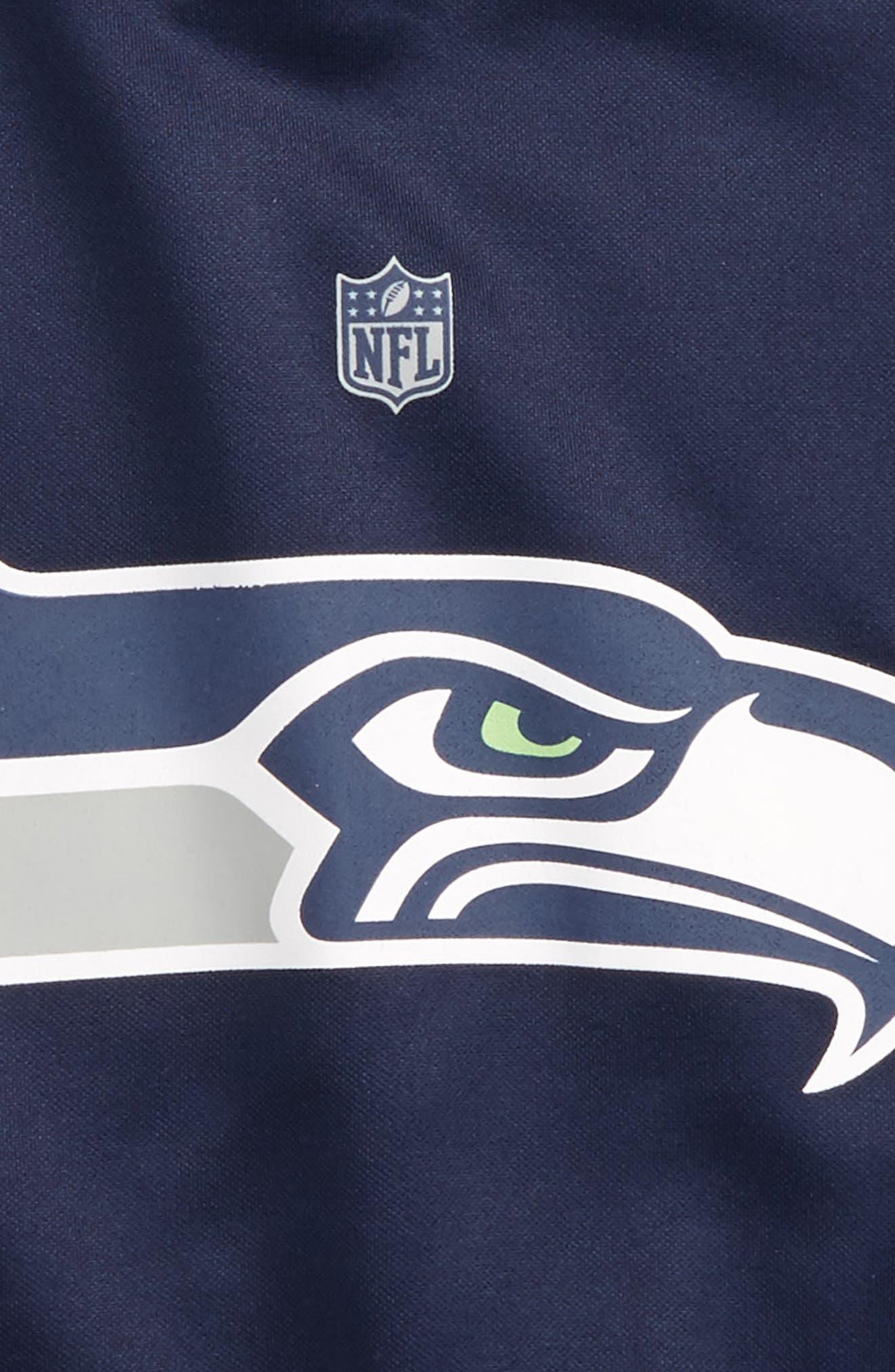 Alternate Image 2  - Outerstuff NFL Seattle Seahawks Hoodie (Big Boys)