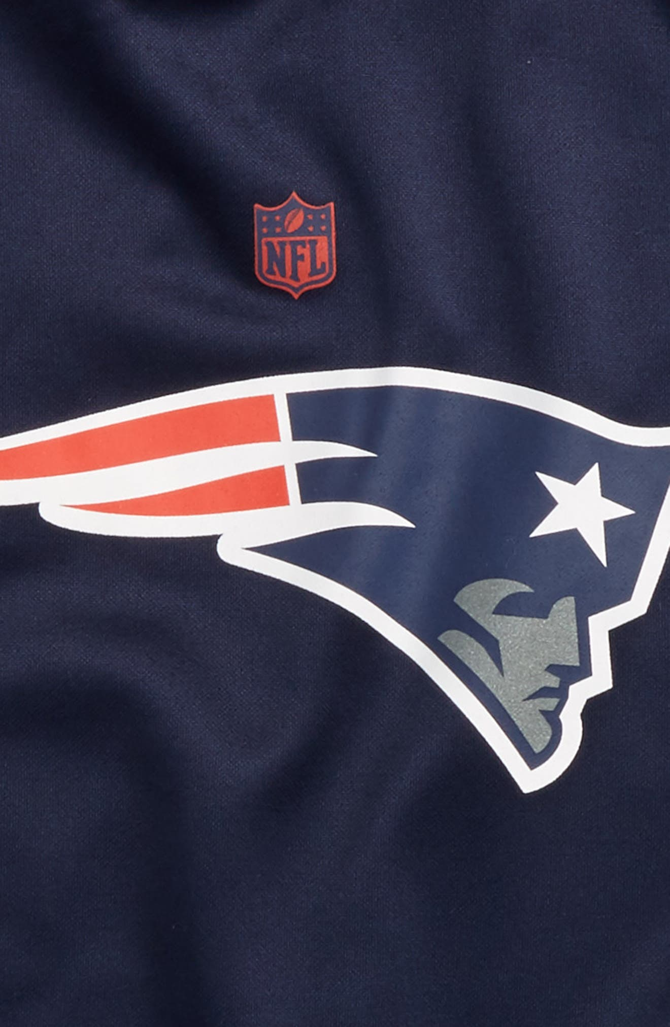 NFL New England Patriots Hoodie,                             Alternate thumbnail 2, color,                             Navy