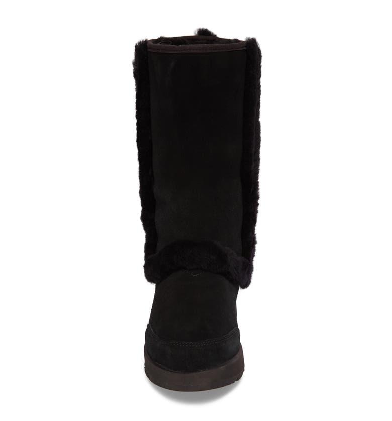 699a6f7ca8b Sundance Waterproof Suede Boot in Black Suede
