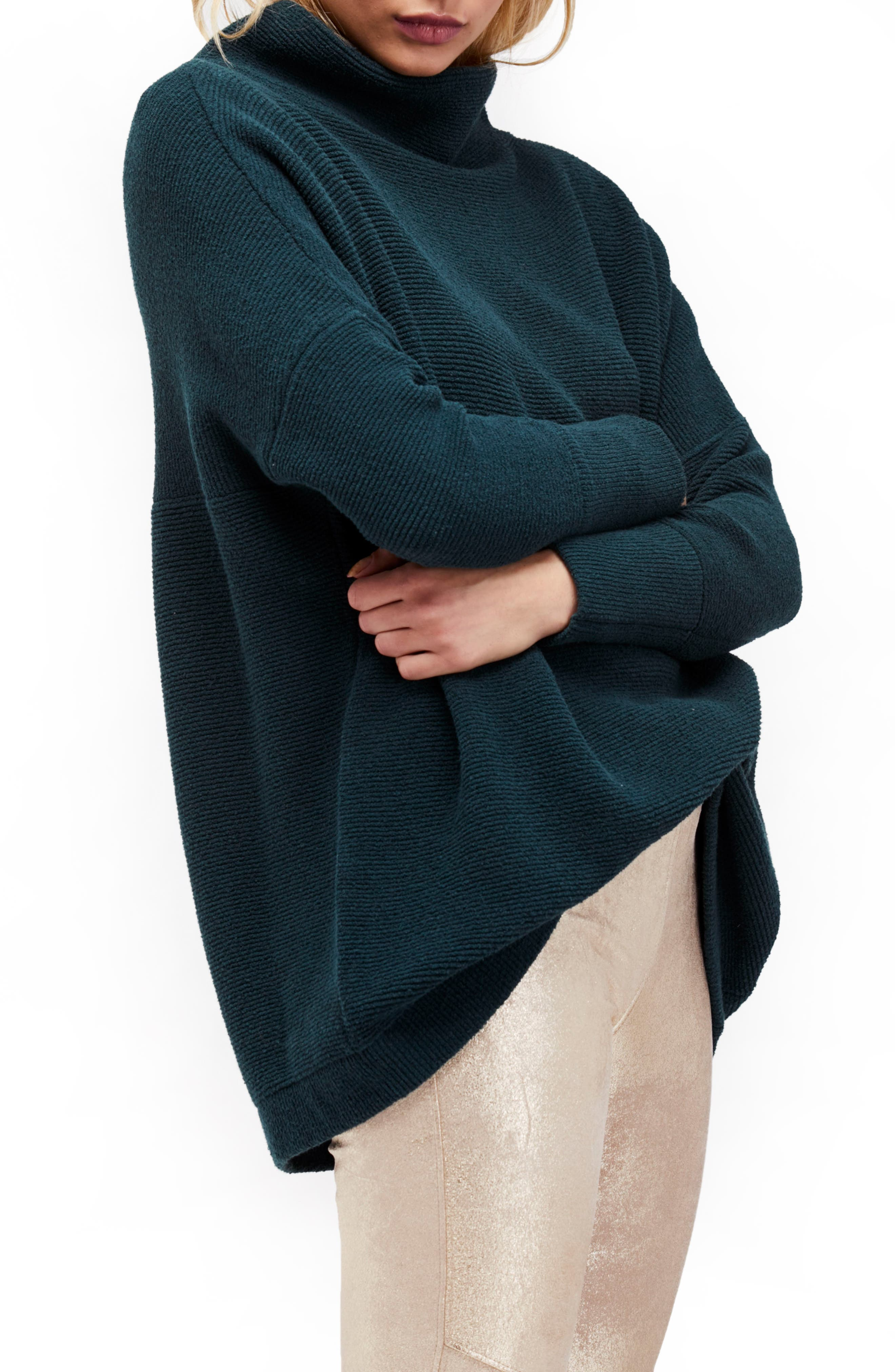Alternate Image 1 Selected - Free People Ottoman Slouchy Tunic
