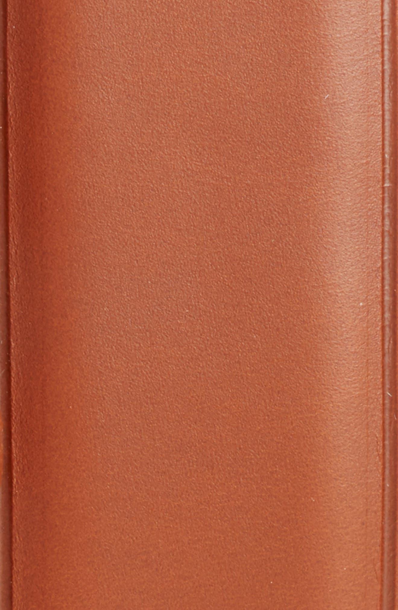Alternate Image 2  - Peter Millar Classic Leather Dress Belt
