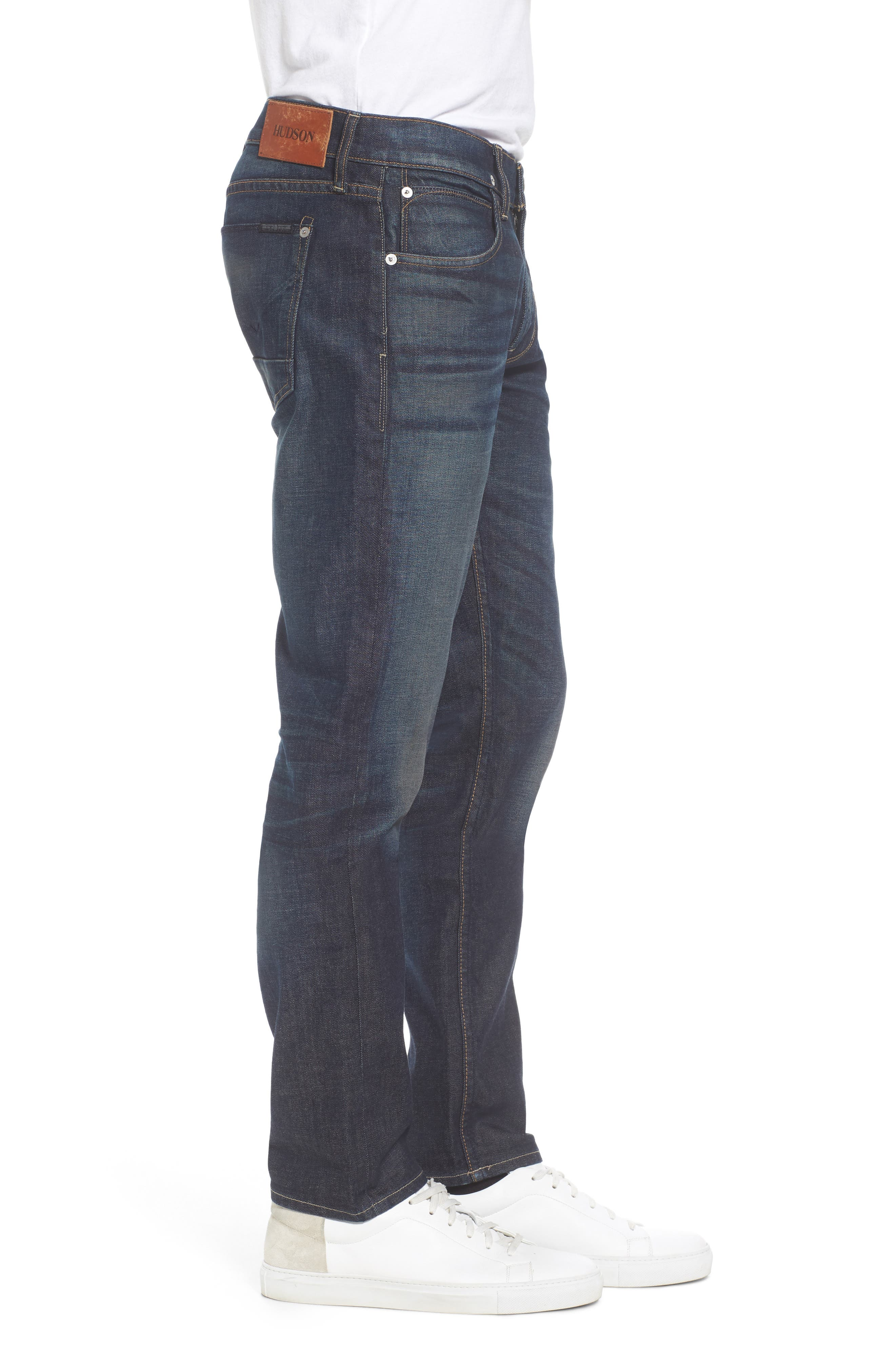 Alternate Image 3  - Hudson Jeans Blake Slim Fit Jeans (Crusher)