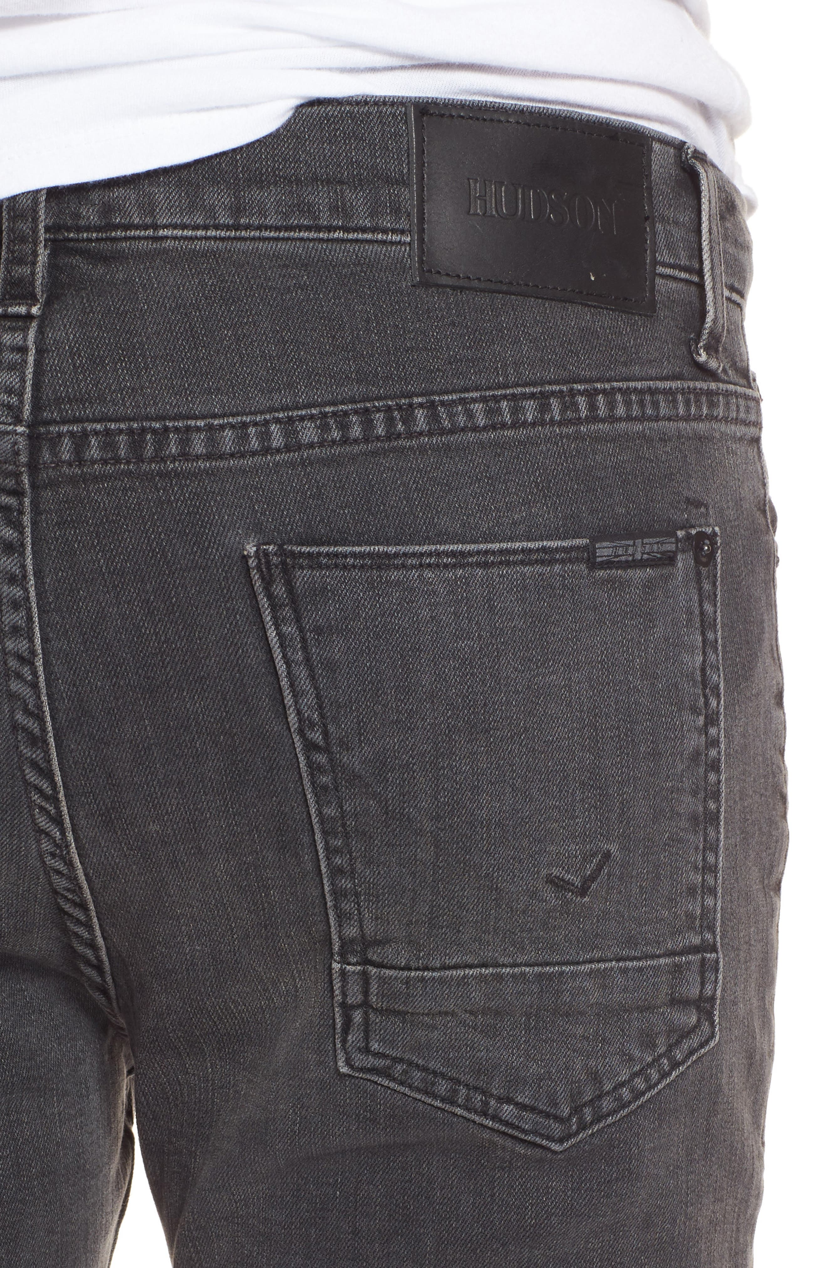 Axl Skinny Fit Jeans,                             Alternate thumbnail 4, color,                             Oxidize