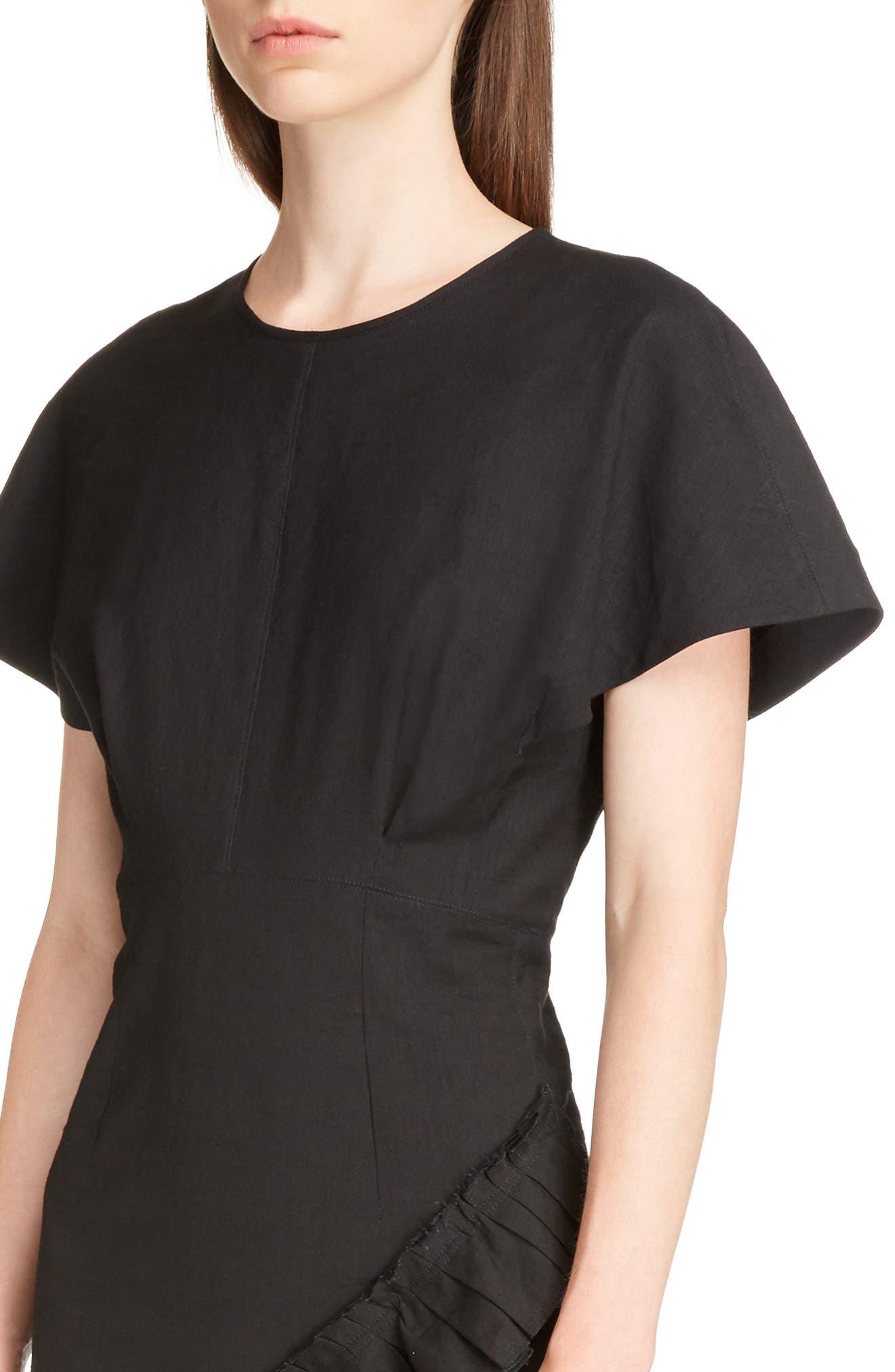Alternate Image 4  - Isabel Marant Rimba Ruffle Hem Dress