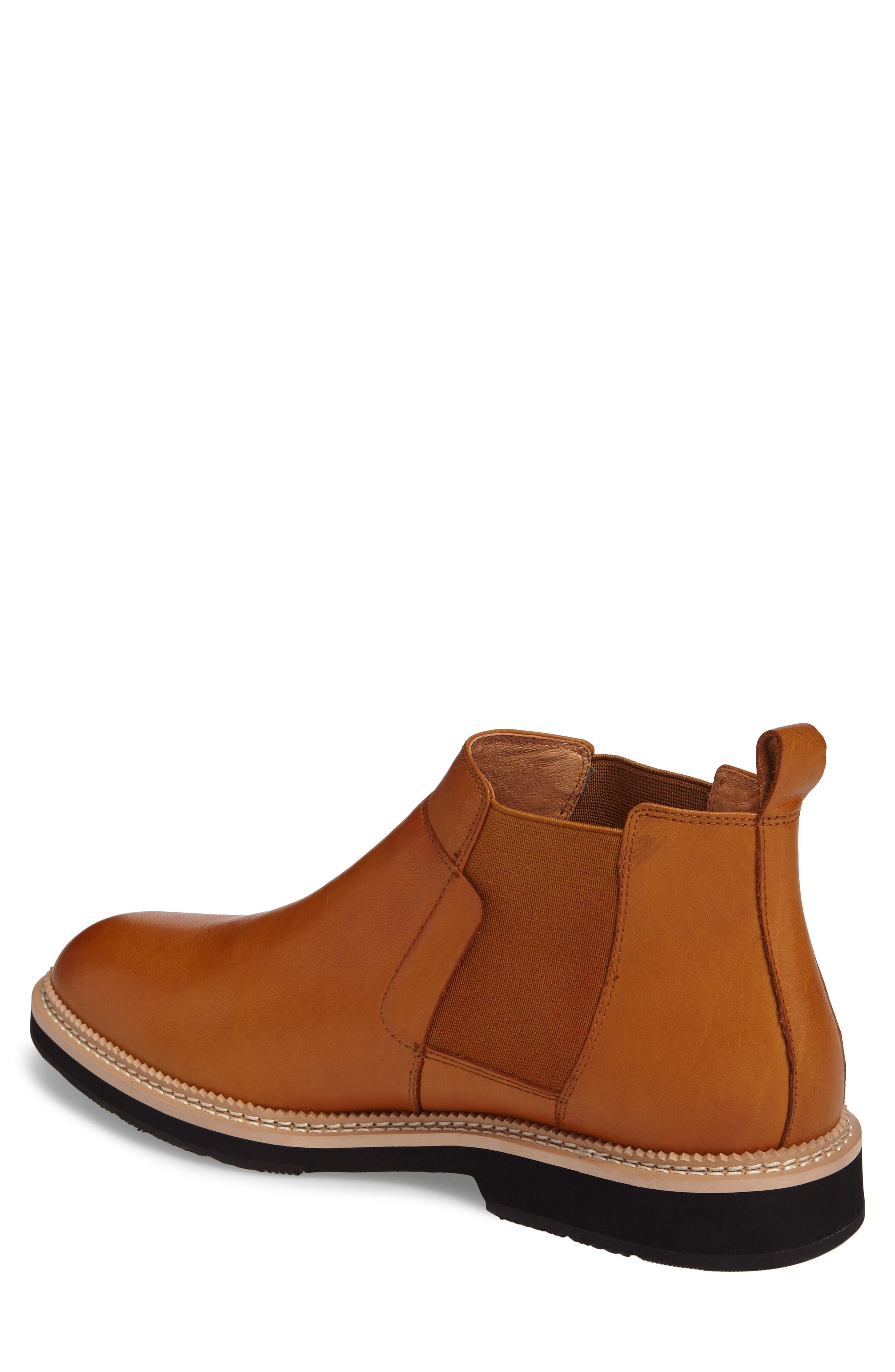 Garrad Chelsea Boot,                             Alternate thumbnail 2, color,                             Cognac Leather