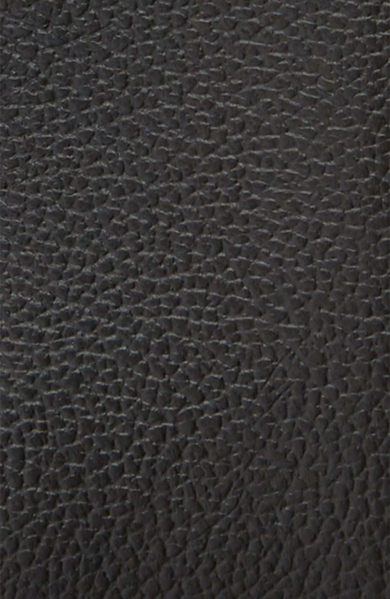 Bayview Ave. Leather Belt,                             Alternate thumbnail 2, color,                             Black