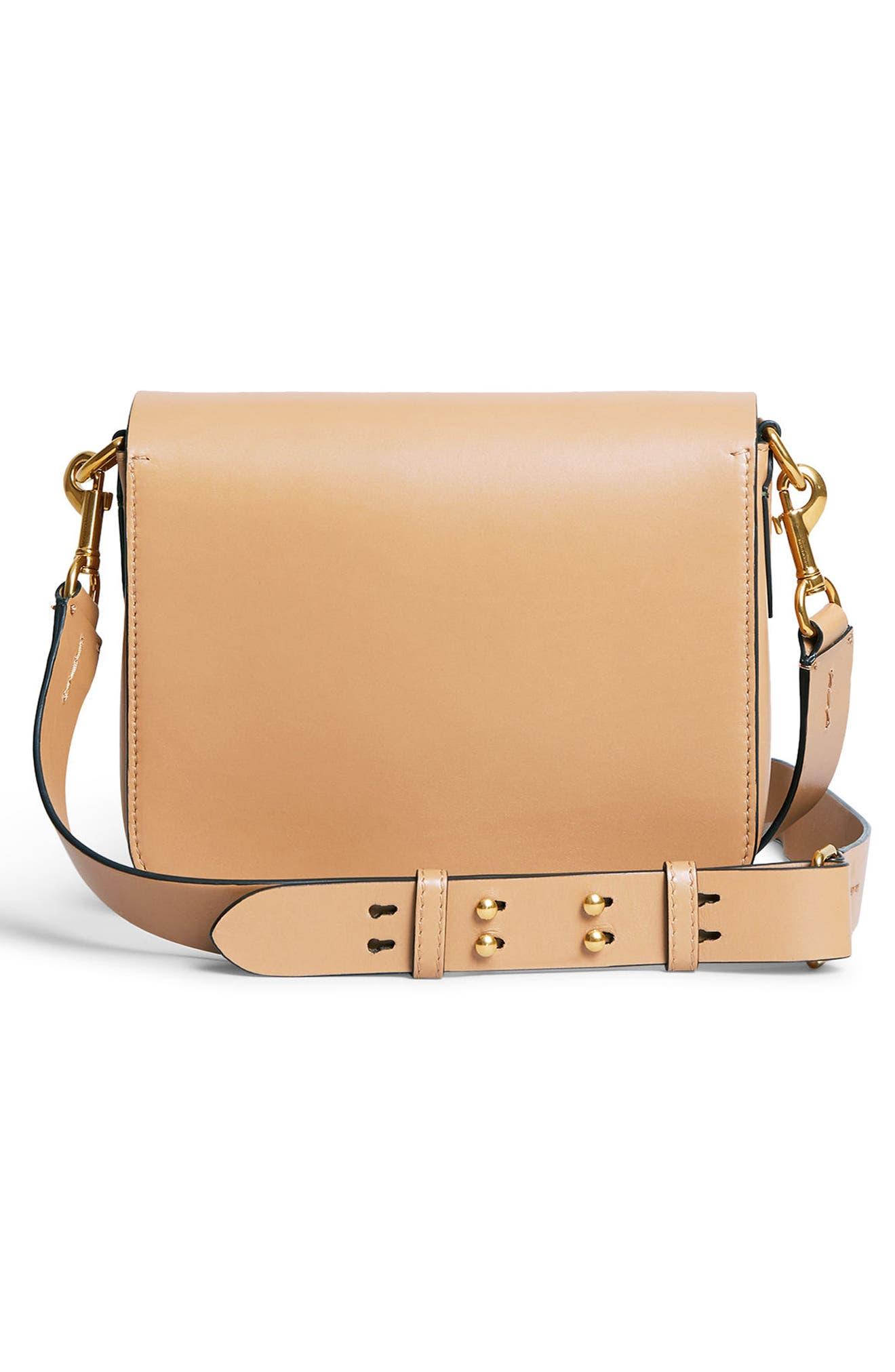 Alternate Image 3  - Burberry Leather Shoulder Bag
