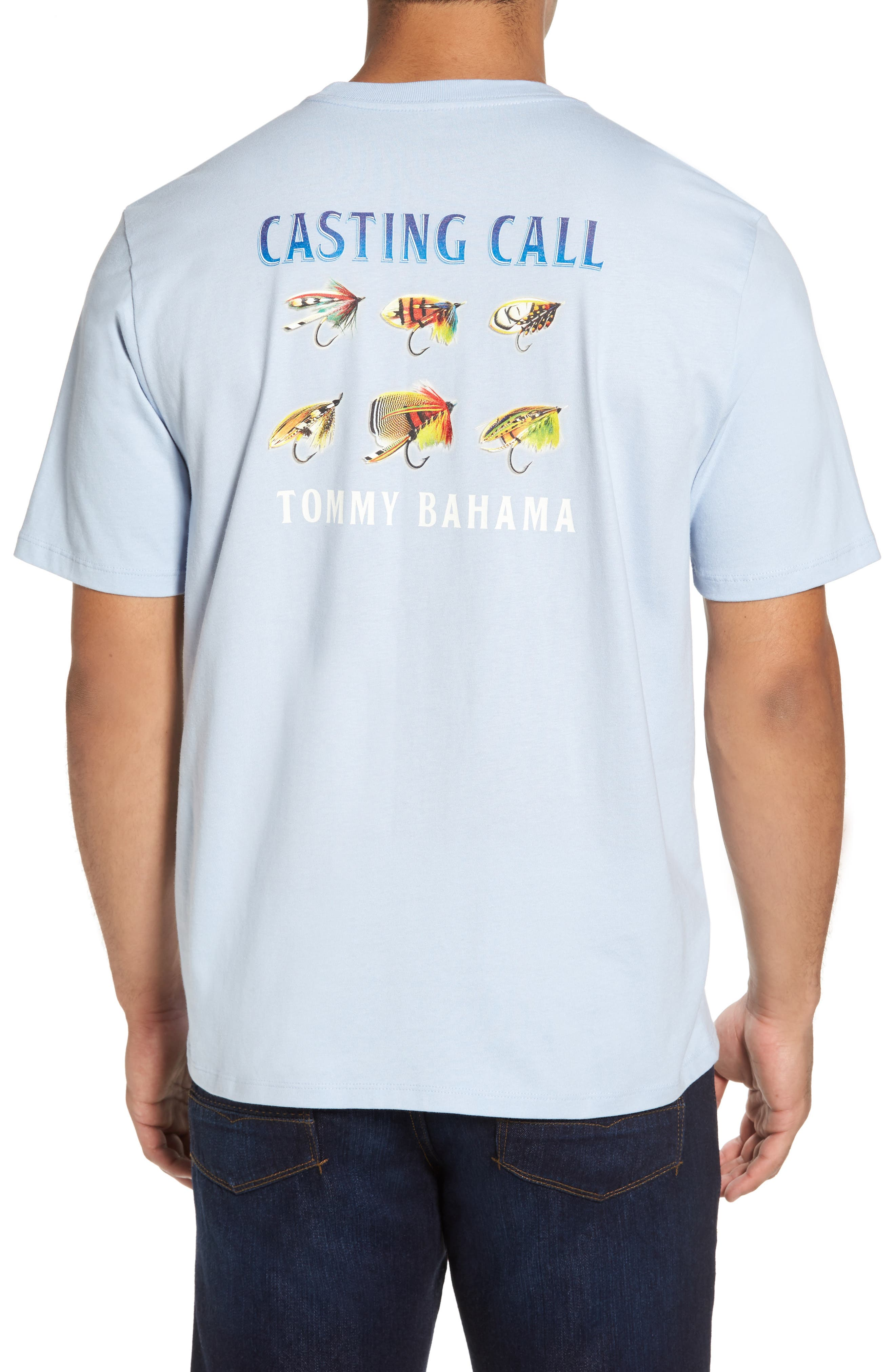 Alternate Image 2  - Tommy Bahama Casting Call Standard Fit T-Shirt