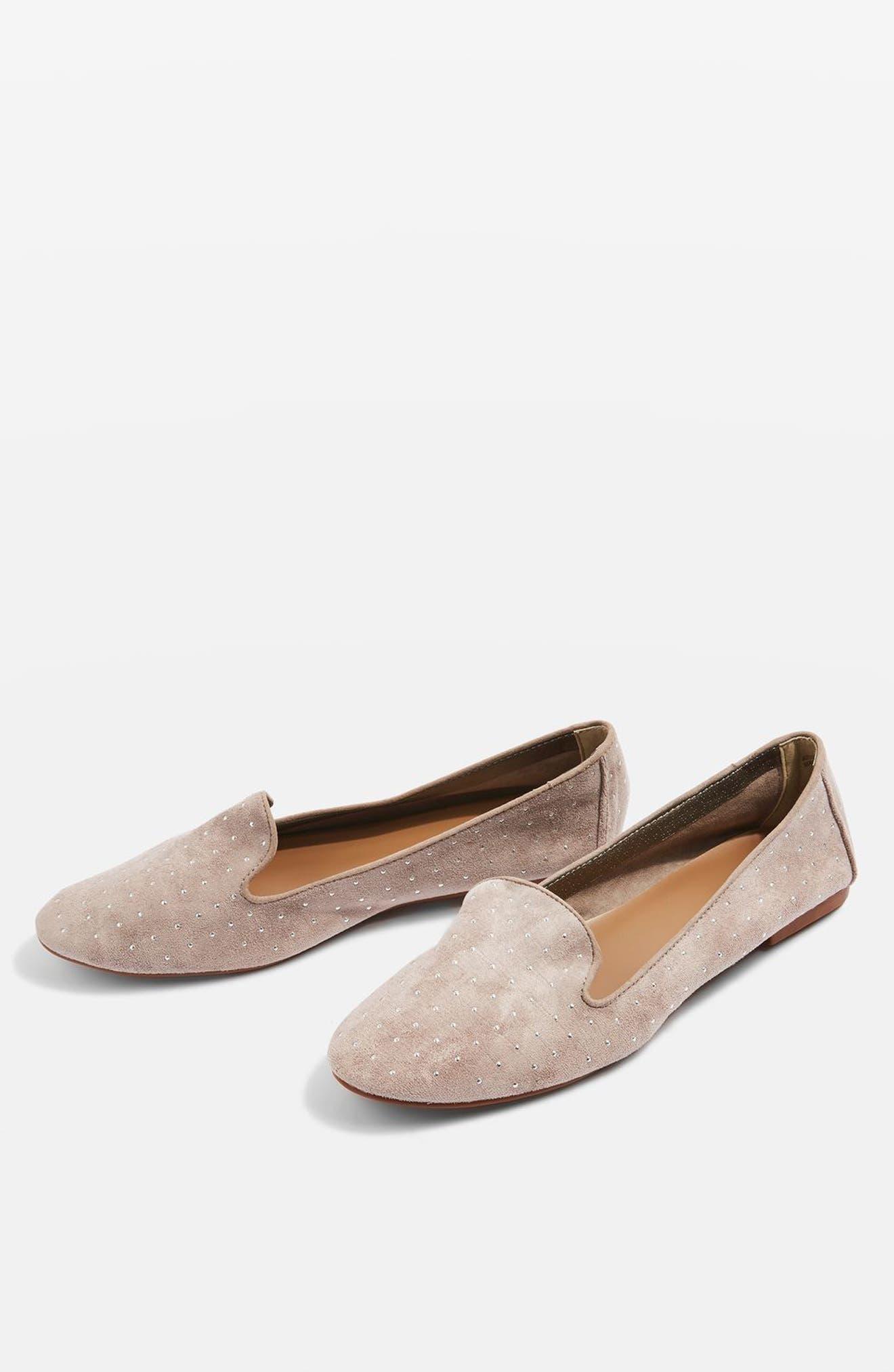 Alternate Image 7  - Topshop Sophie Studded Slip-On Loafers