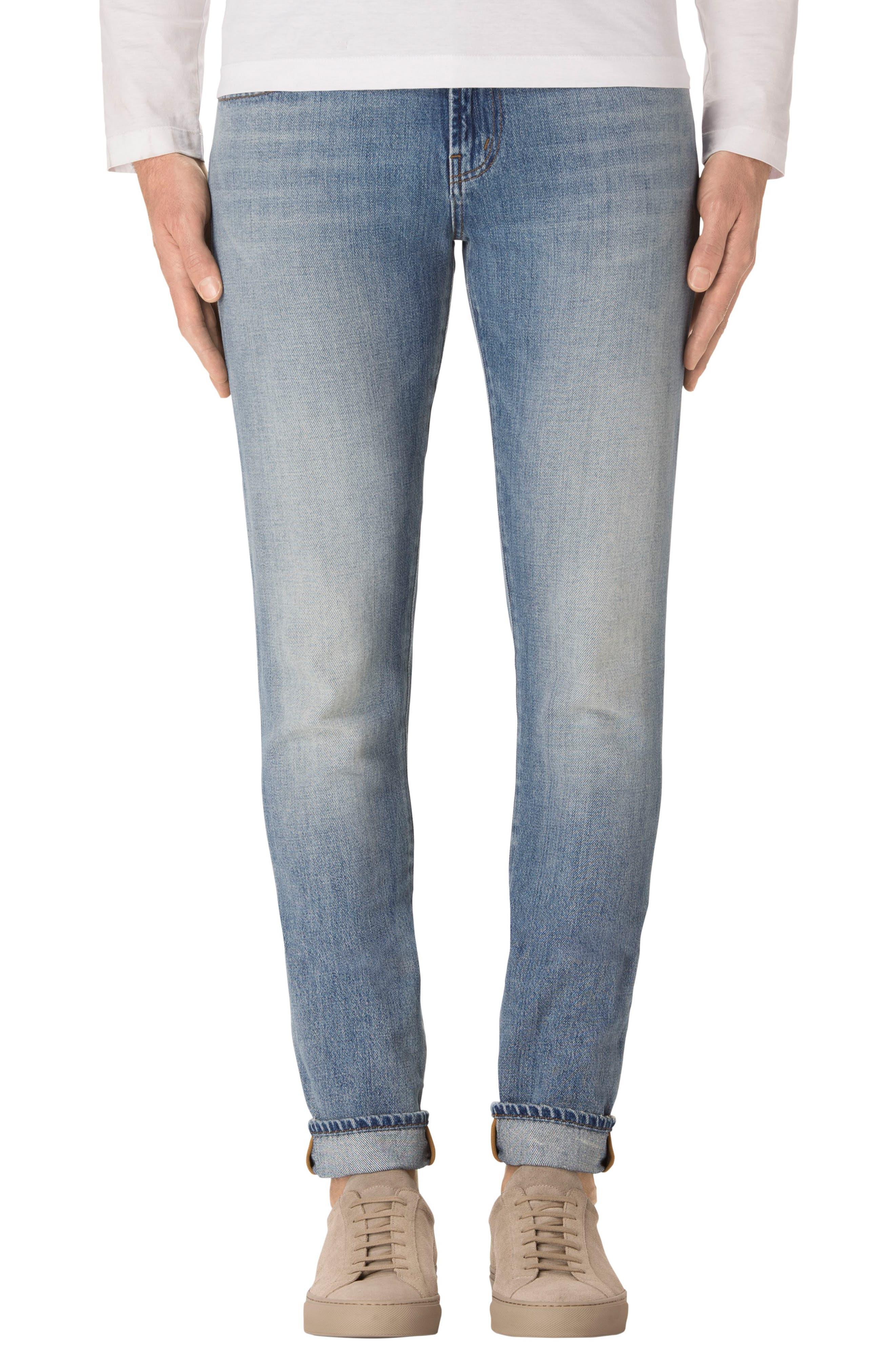 J Brand Tyler Slim Fit Jeans (Azaleah)