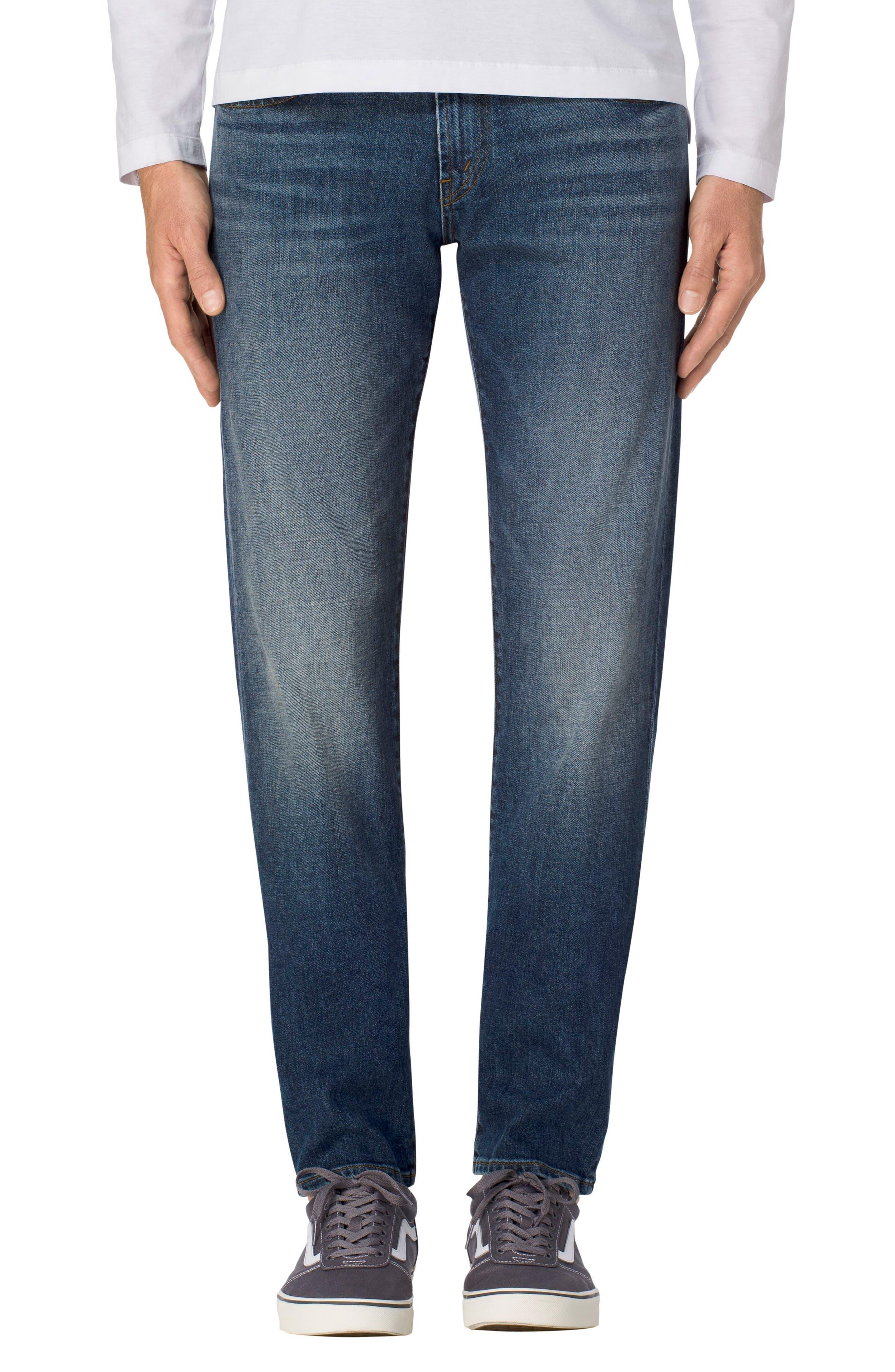 J Brand Kane Slim Straight Leg Jeans (Serpentis)