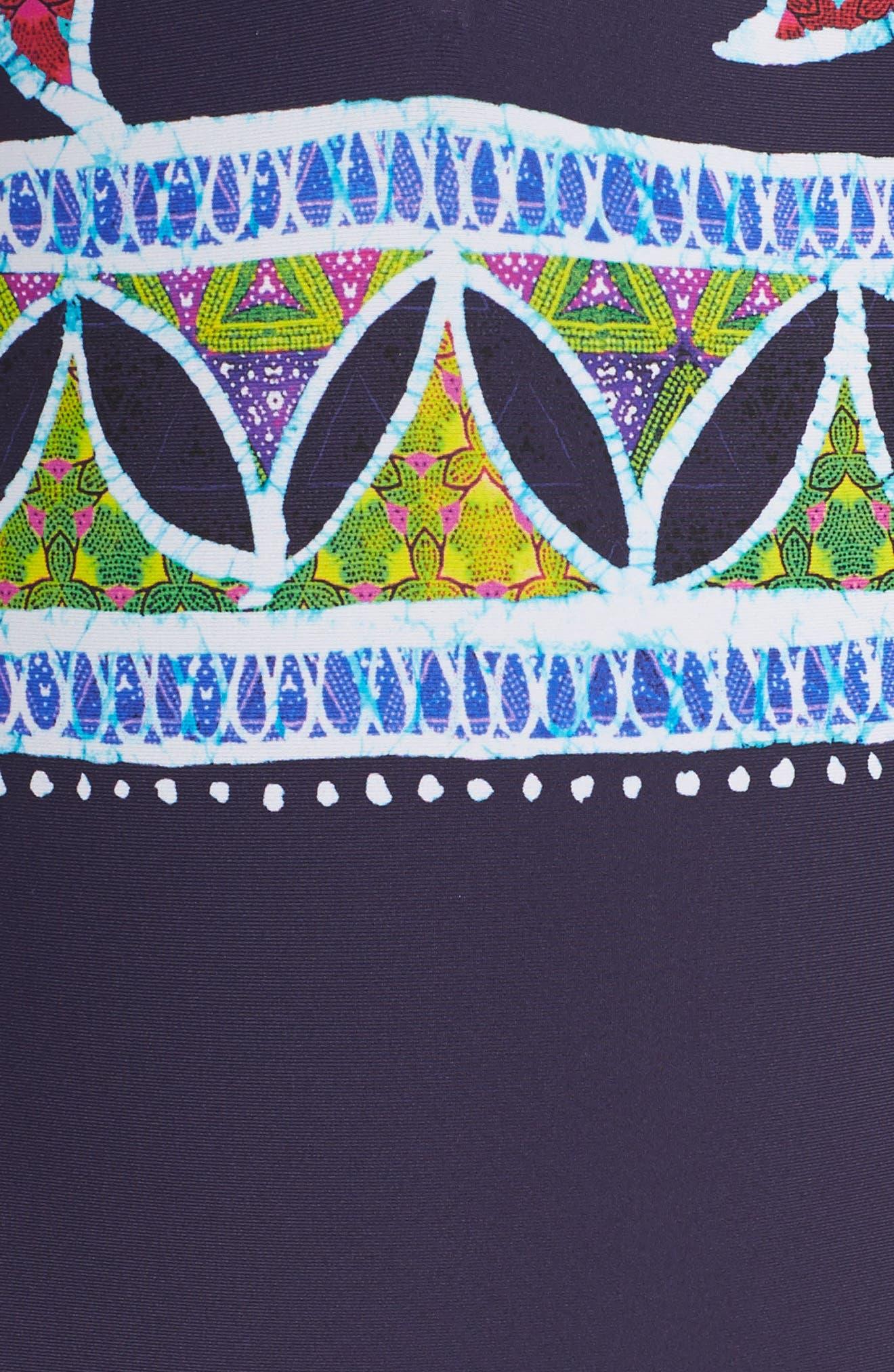 Alternate Image 5  - Trina Turk Lotus Reversible One-Piece Swimsuit