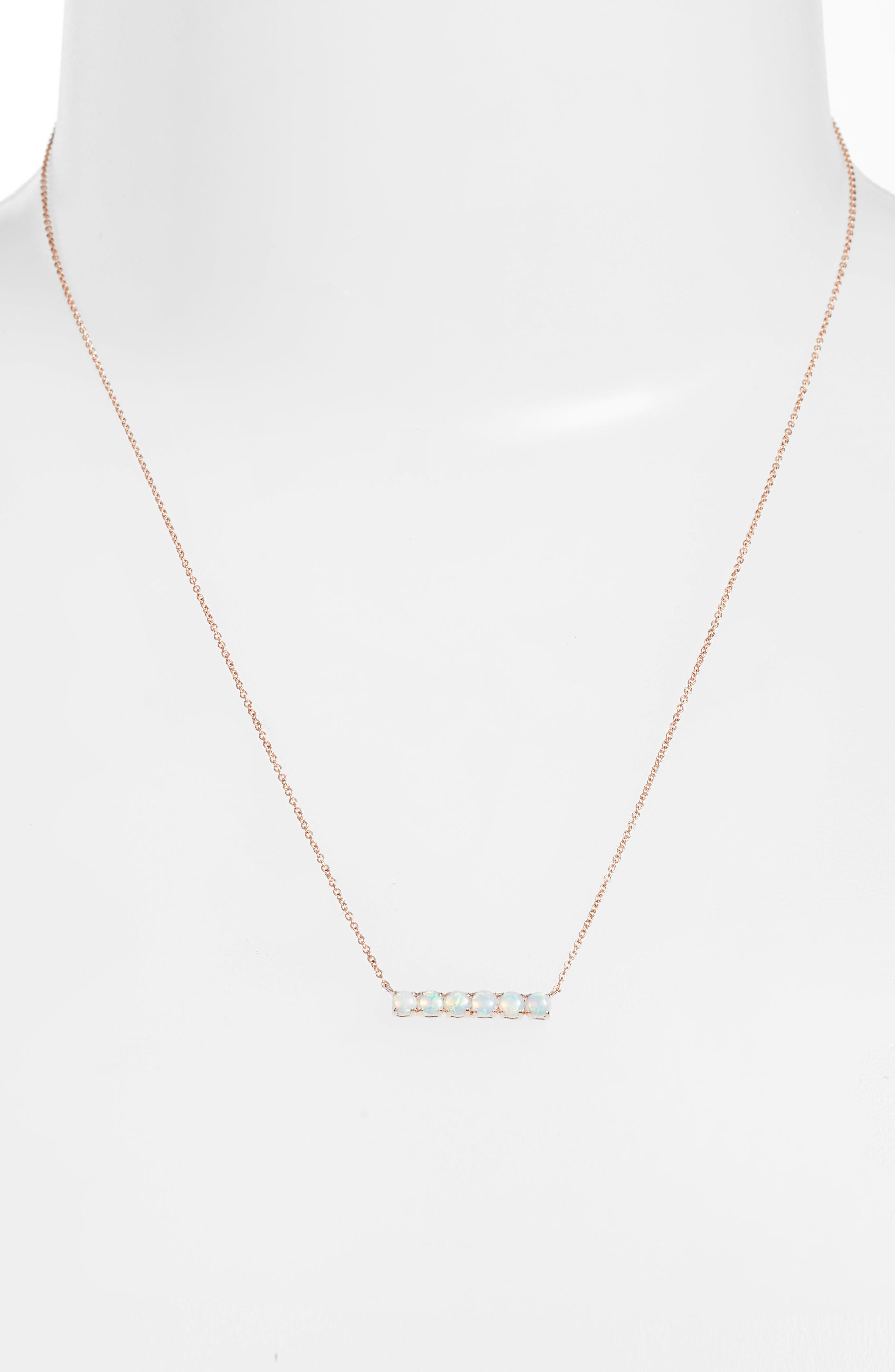 Alternate Image 2  - Dana Rebecca Designs Bar Pendant Necklace