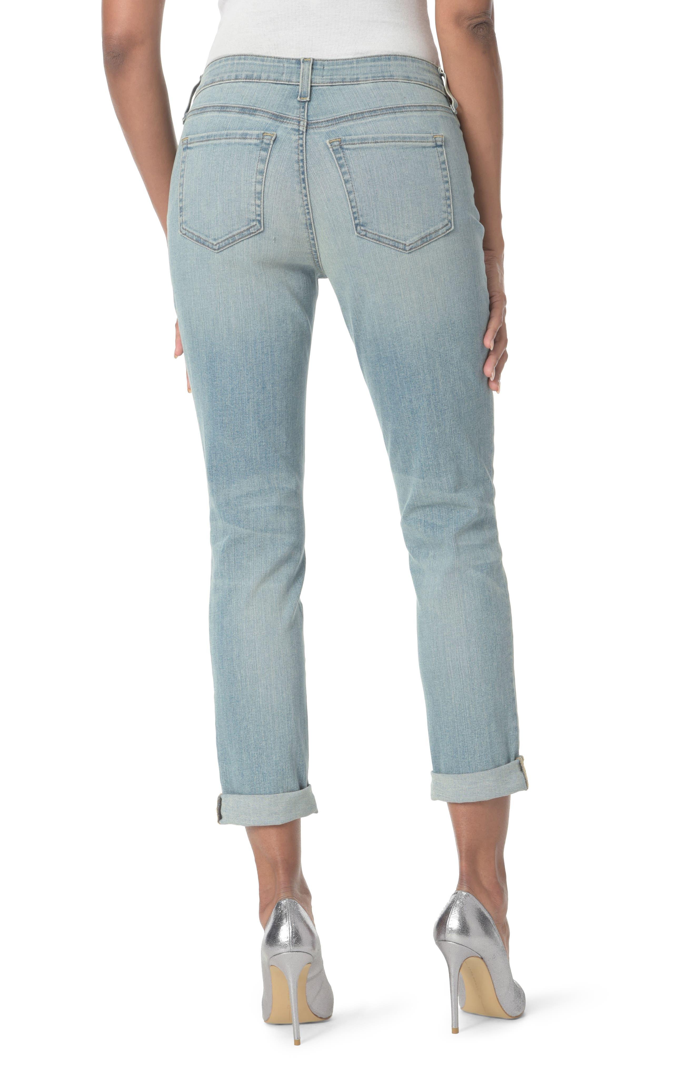 Alternate Image 2  - NYDJ Embellished Boyfriend Jeans (Westland)