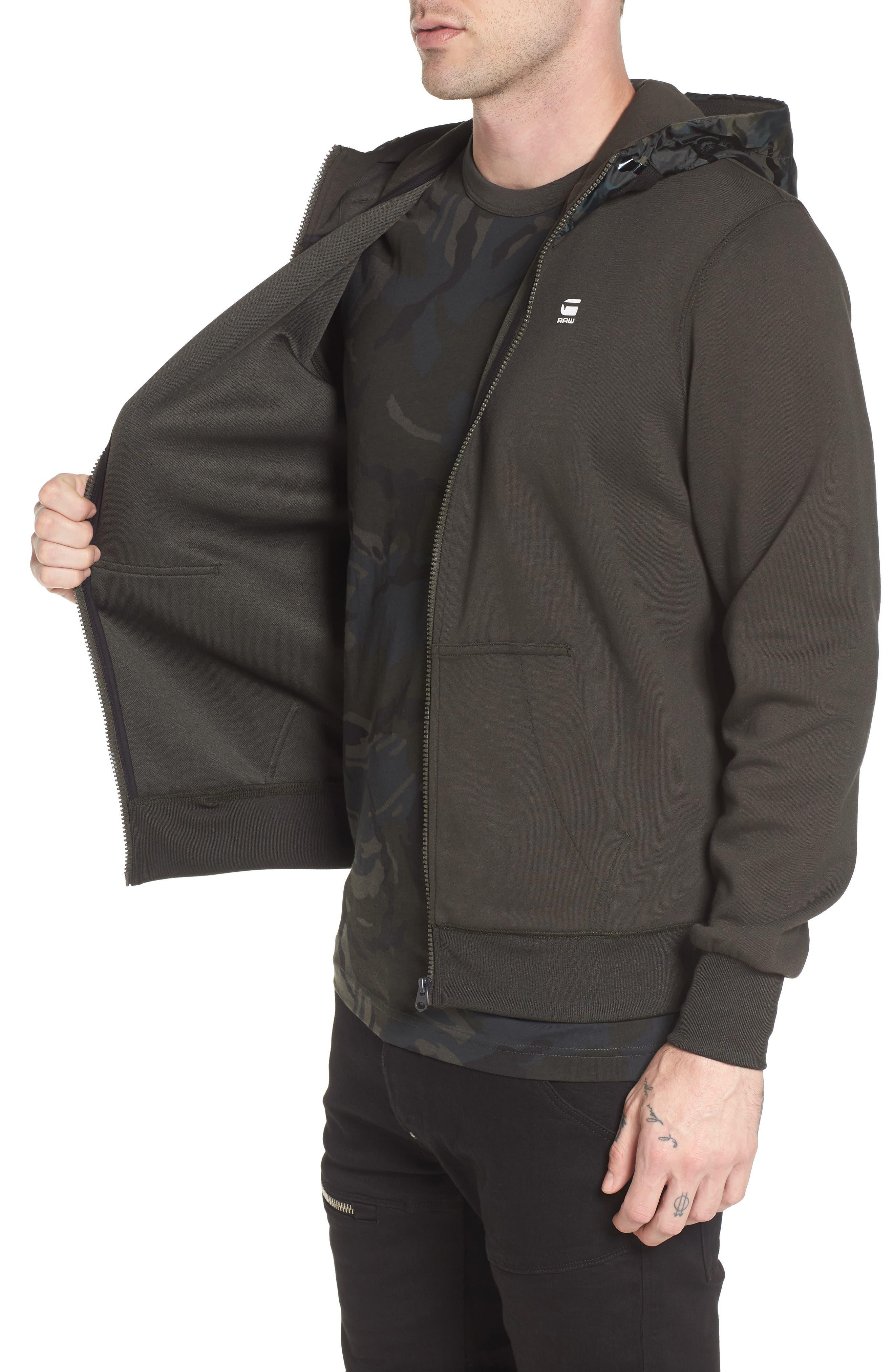 Alternate Image 3  - G-Star Raw Core Hooded Zip Sweatshirt