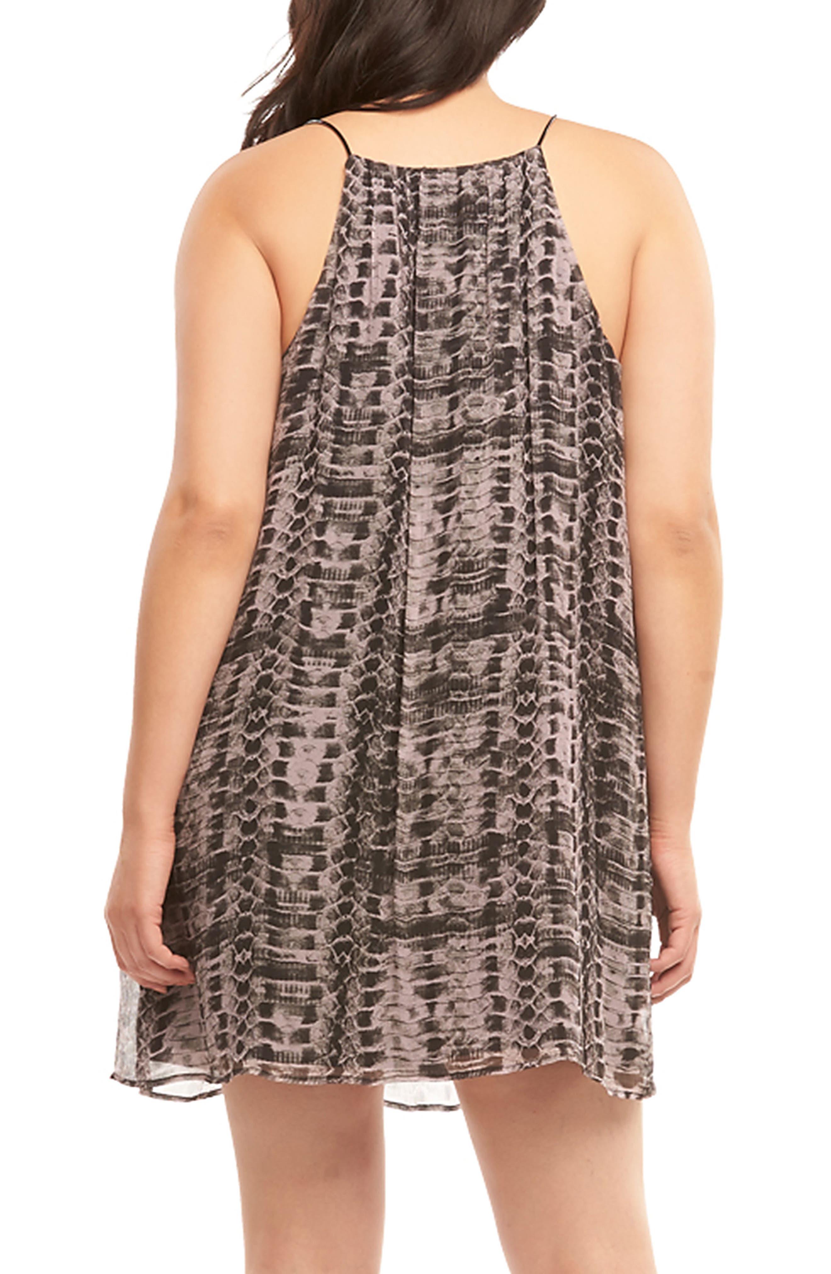 Alternate Image 2  - Tart Ellie Sleeveless Shift Dress (Plus Size)