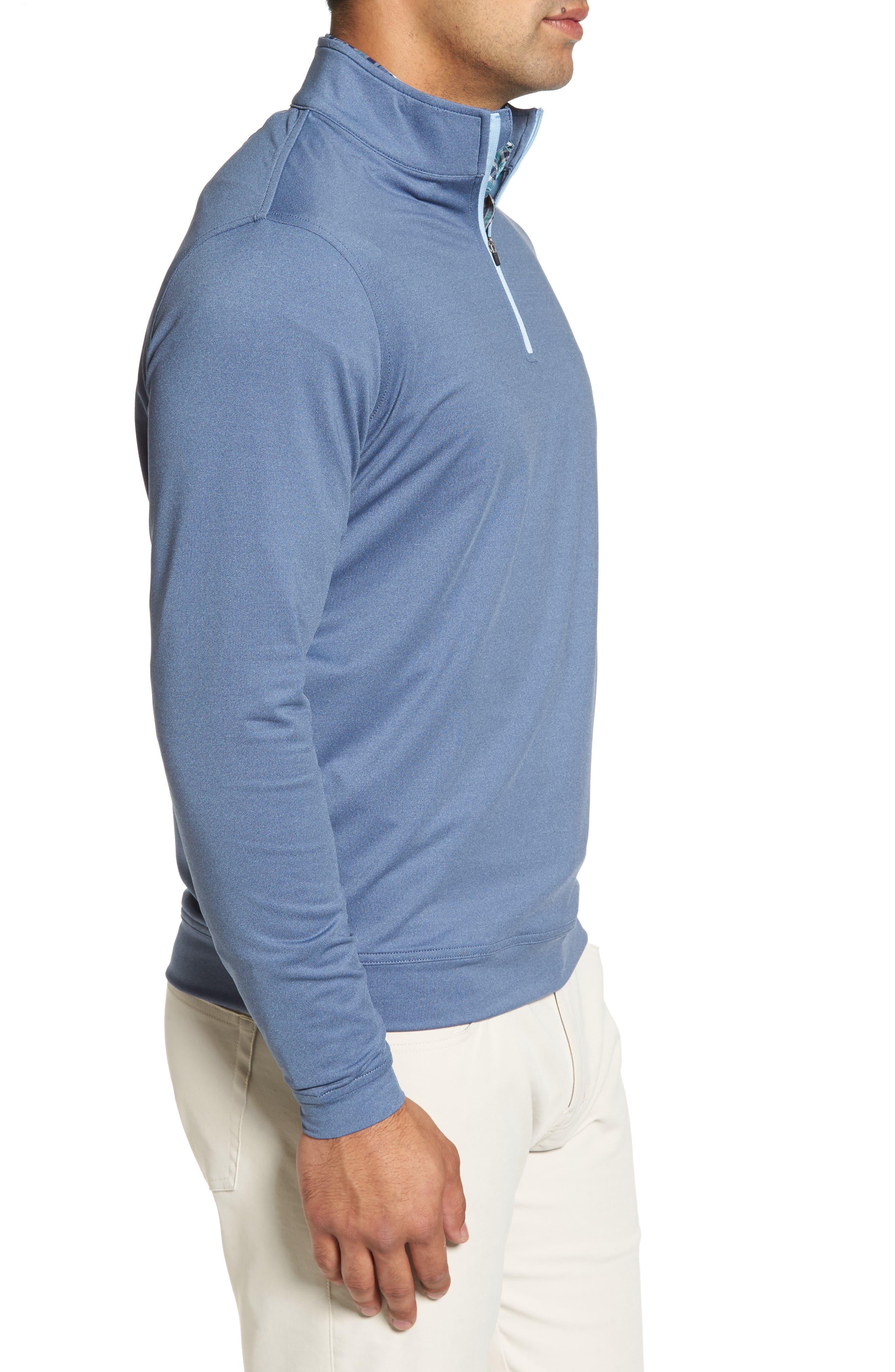 Alternate Image 3  - Peter Millar Perth Quarter Zip Stretch Pullover