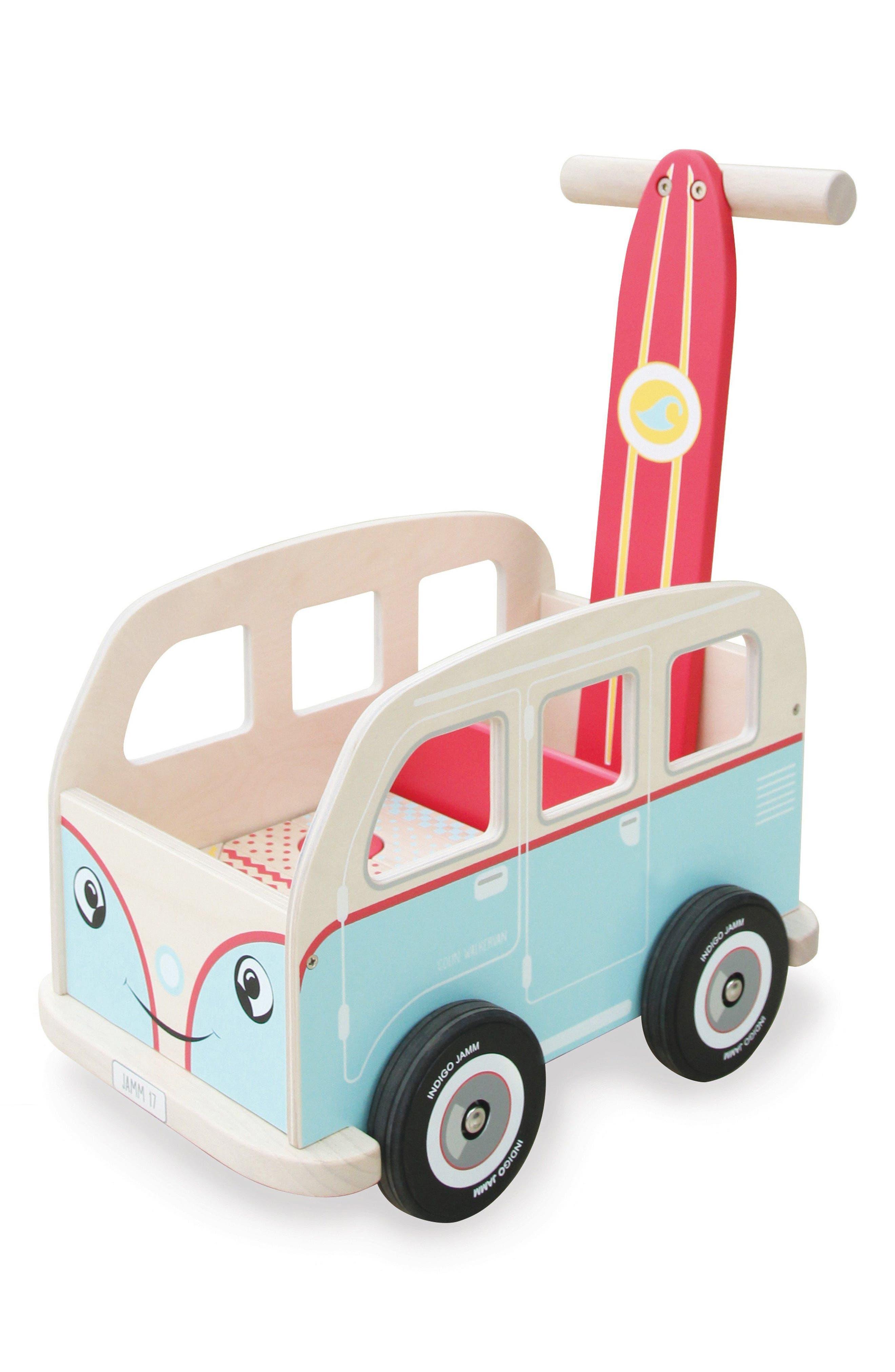 Van Push Toy,                         Main,                         color, Blue