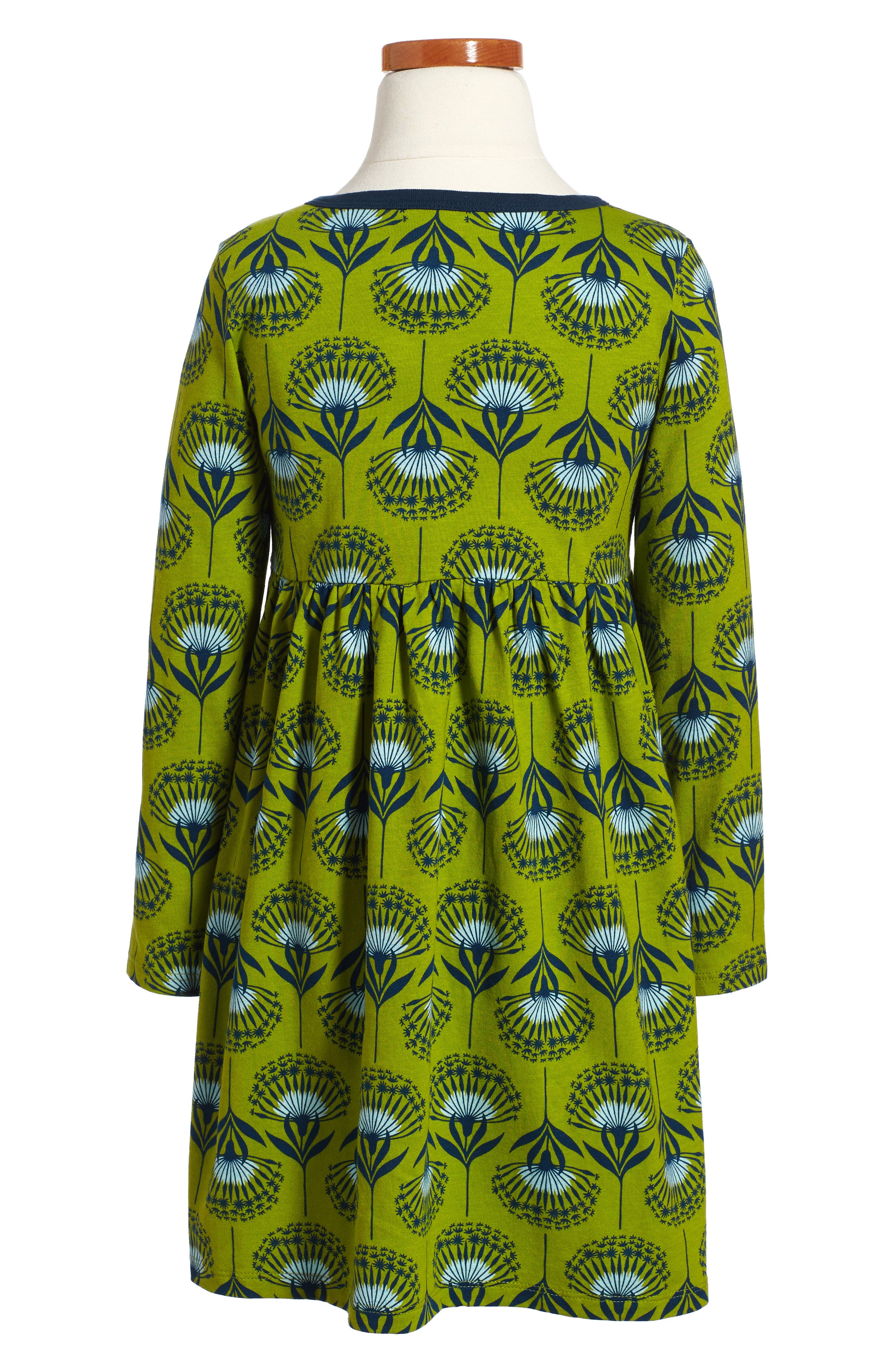 Alternate Image 2  - Tea Collection Dandelion Henley Dress (Toddler Girls, Little Girls & Big Girls)