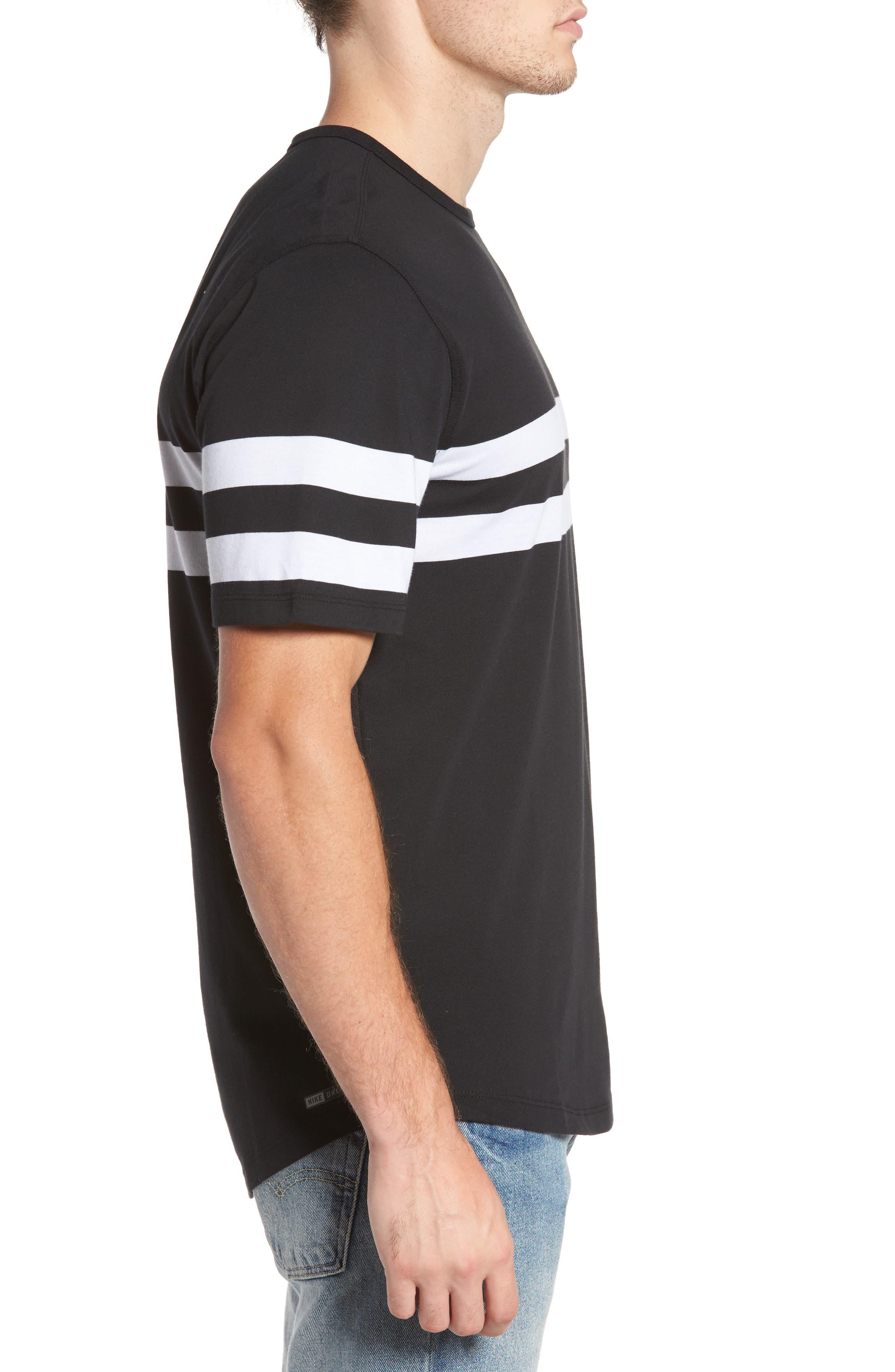 Control Dri-FIT T-Shirt,                             Alternate thumbnail 3, color,                             Black (00A)