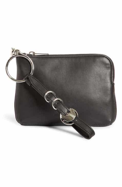 Alexander Wang Small Ace Nappa Leather Wristlet