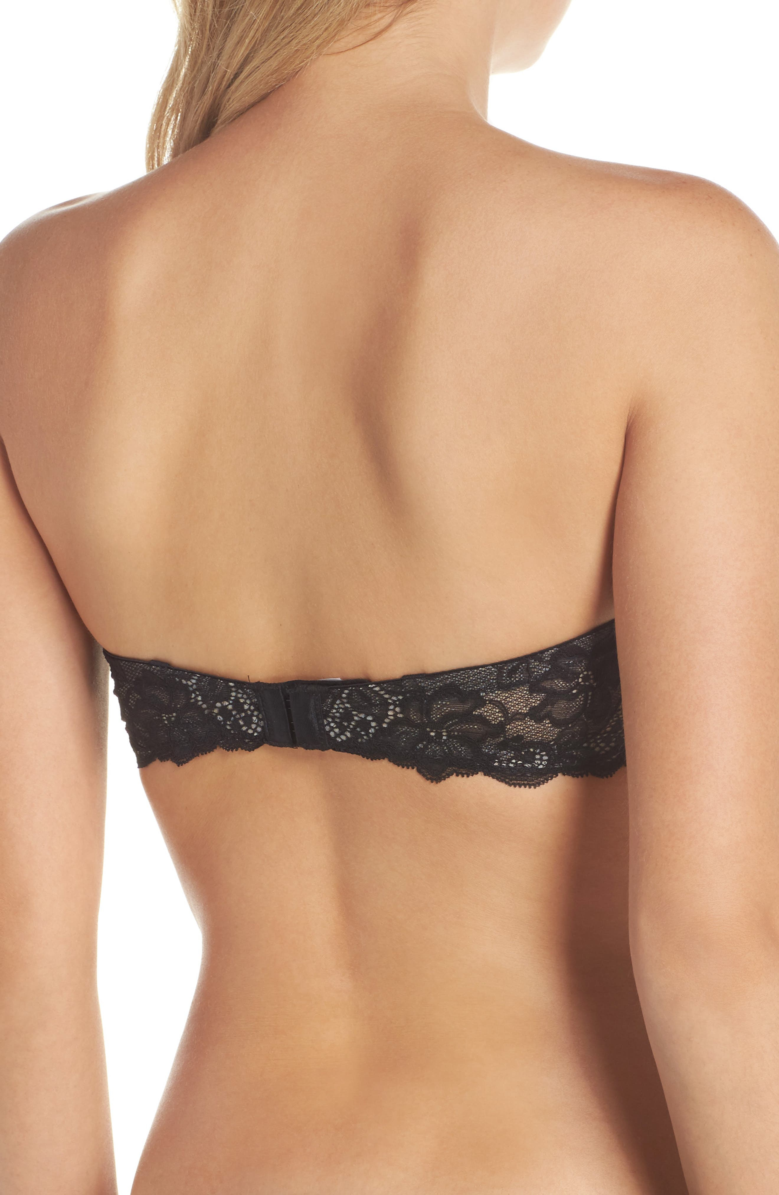 'B Delighted' Convertible Underwire Contour Bra,                             Alternate thumbnail 2, color,                             Night