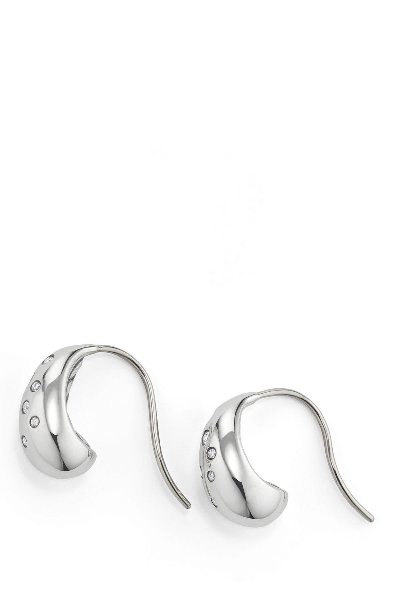Main Image - David Yurman Pure Form Earrings with Diamonds, 15mm